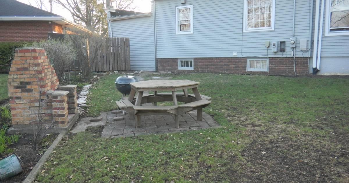 pie shaped yard a challenge