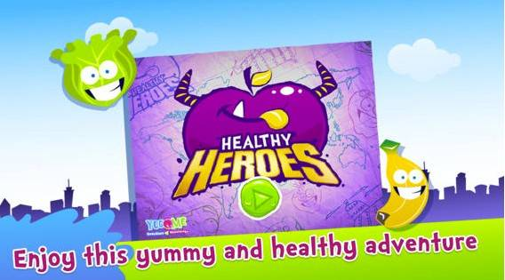In Healthy Heroes, hungry monsters arrive to destroy a city. Your child will need to feed the monsters fruits and vegetables to defeat them and become a Healthy Hero. With 36 levels of activities, Healthy Heroes teaches your child about healthy eating habits in a fun way. Cost: $1.29Ages: 4 and up