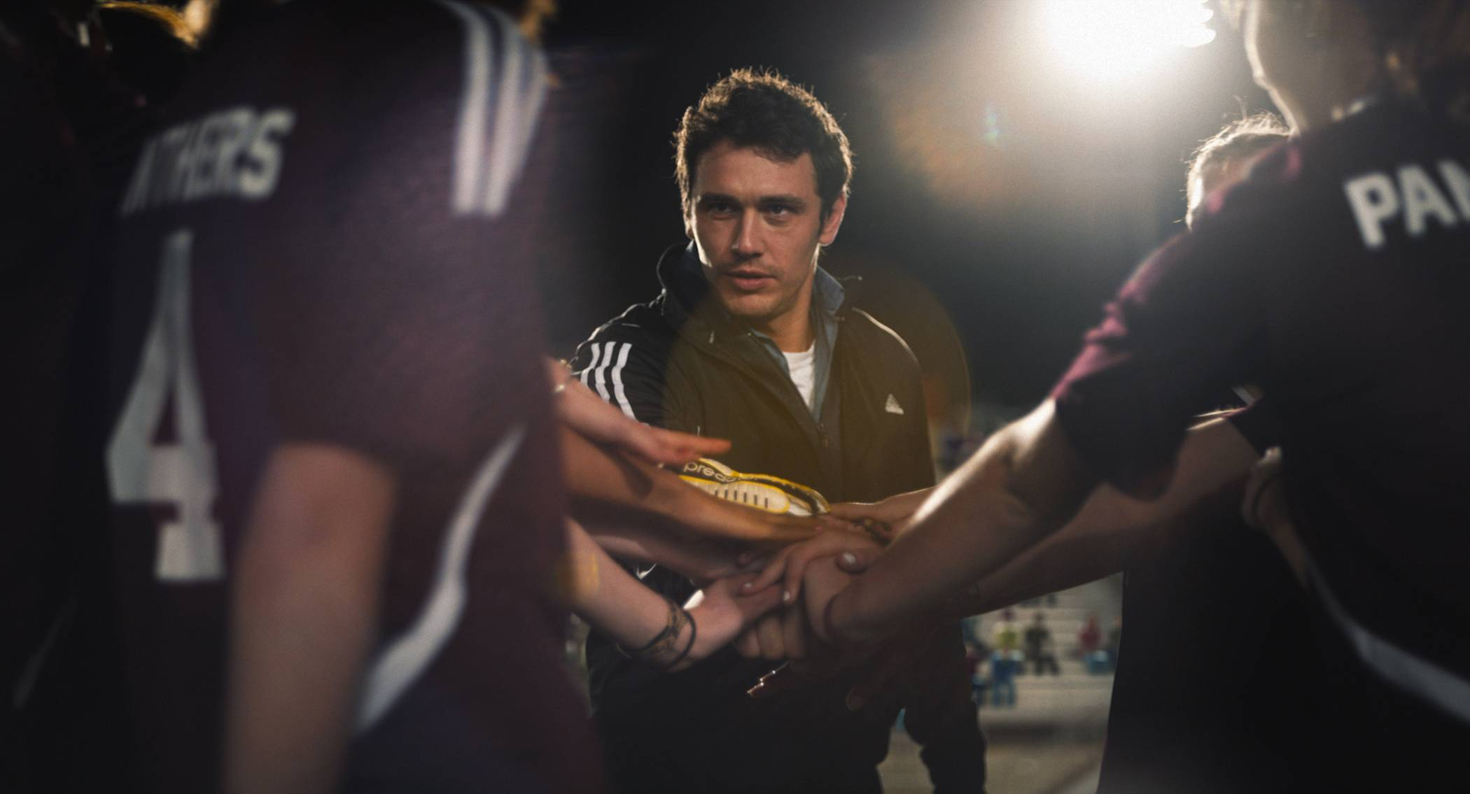 "A soccer coach (James Franco) begins a relationship with a teen in ""Palo Alto,"" based on the actor's book of short stories."