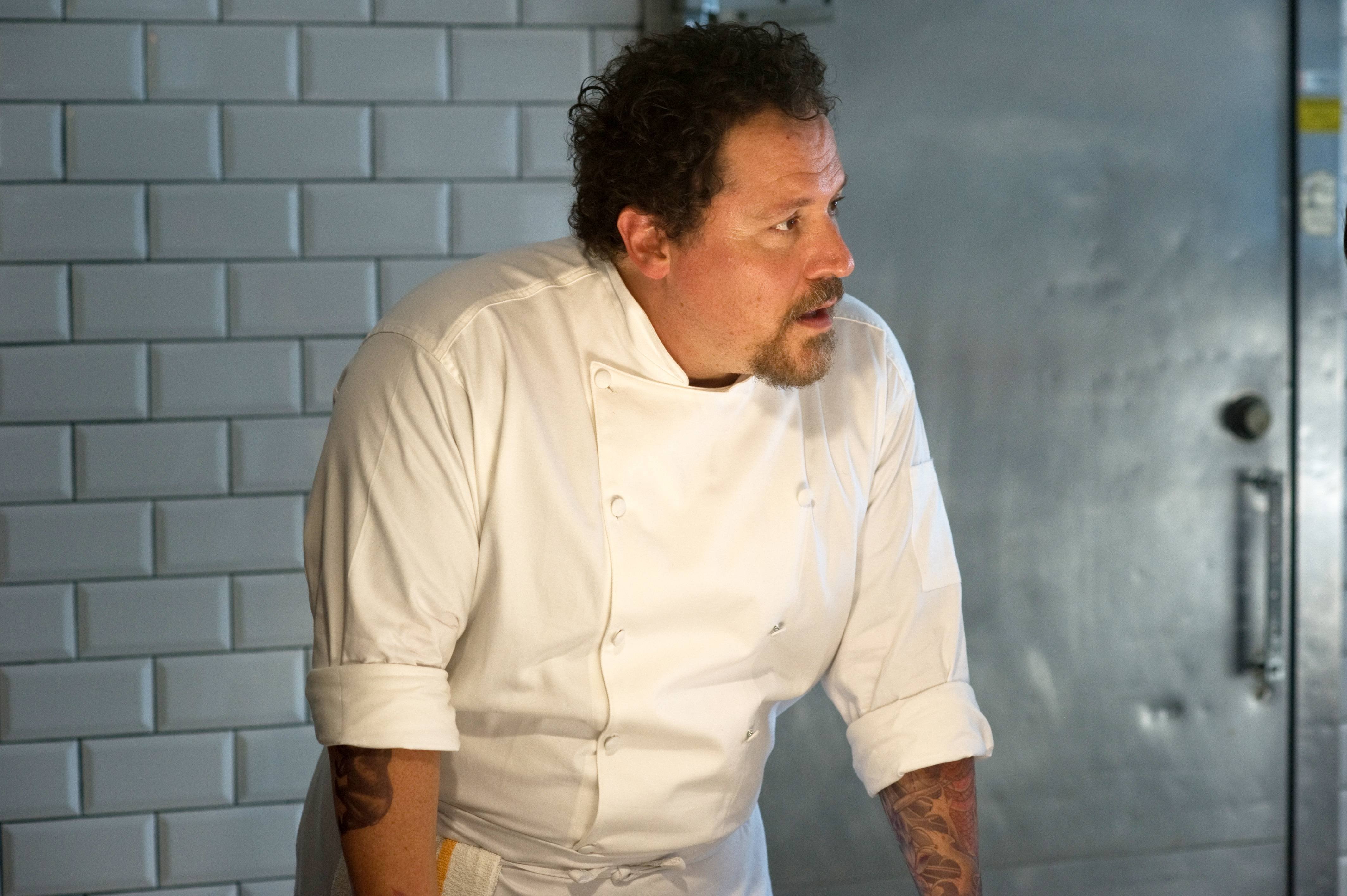 "Director Jon Favreau stars as a celebrated chef suffering a midlife crisis in ""Chef."""