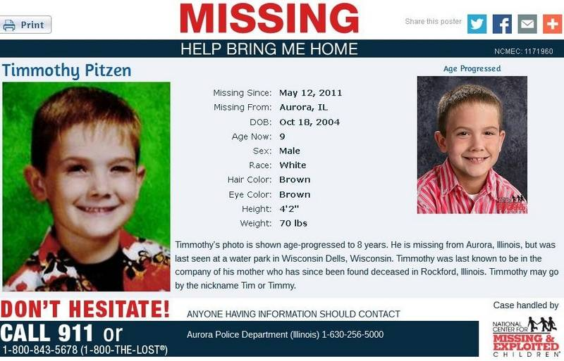 Police Hope Age Progressed Photo Helps Find Missing Boy