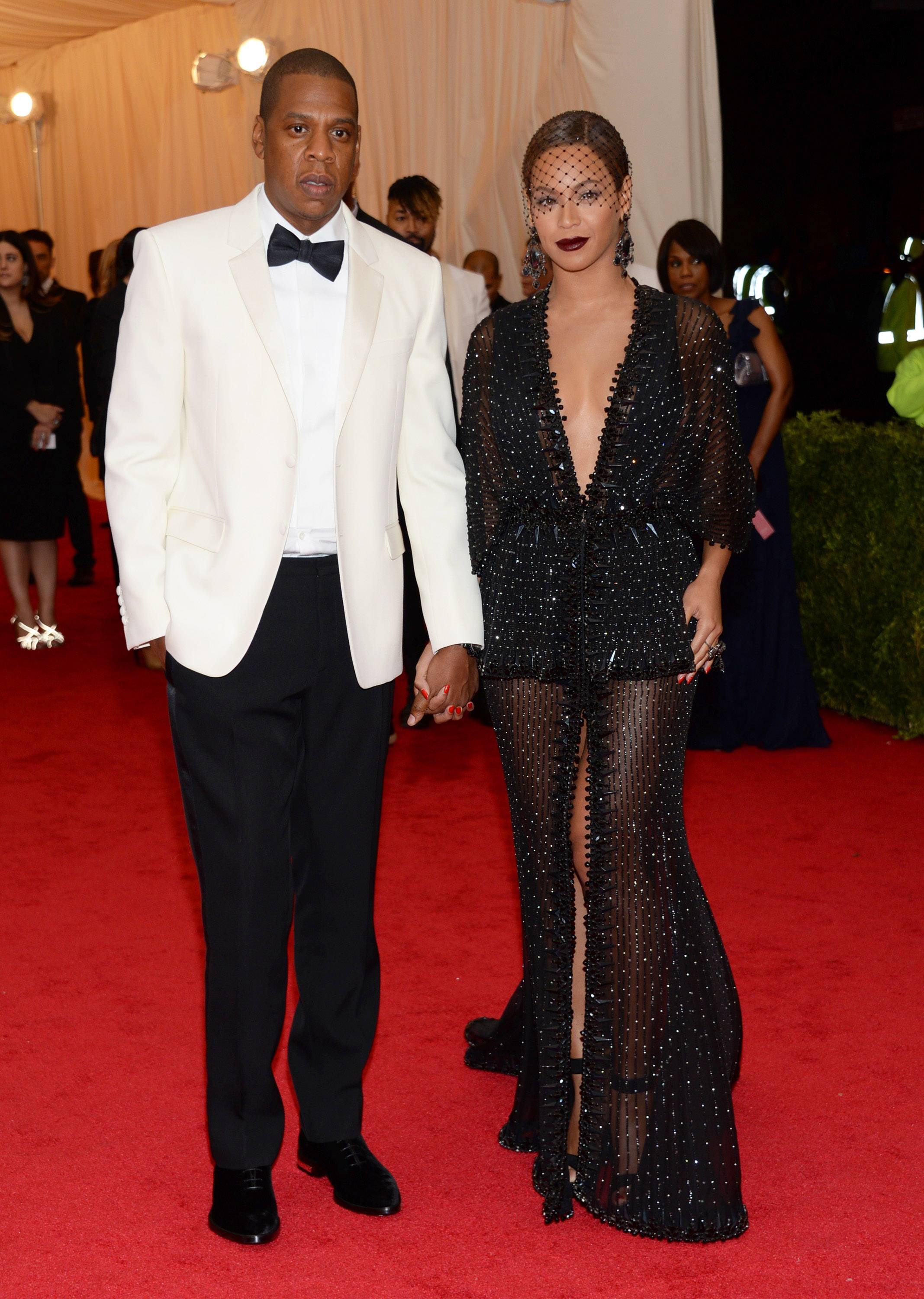 This photo of Jay Z and Beyoncé at The Metropolitan Museum of Art's Costume Institute benefit gala isn't nearly as compelling as the grainy surveillance video from the elevator ride that followed.