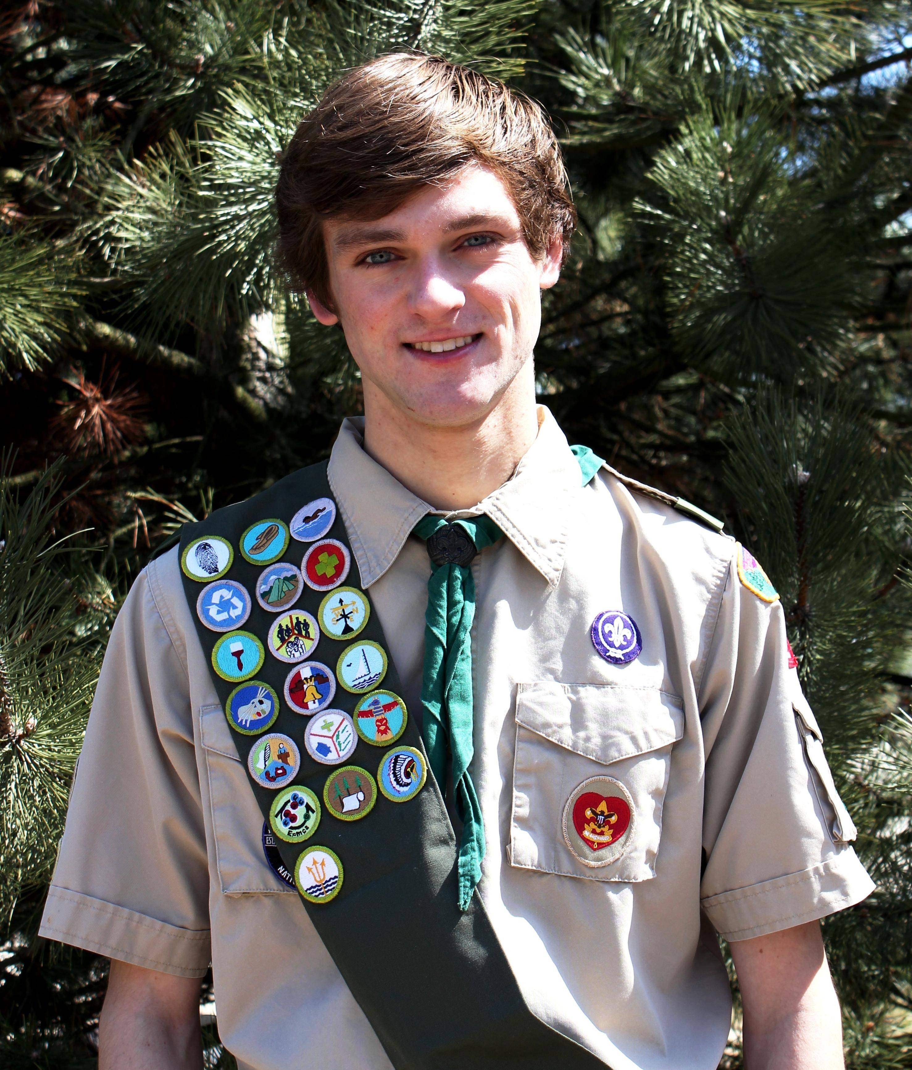Scott Johnson of St. Patrick Boy Scout Troop 10 was named an Eagle Scout at the Court of Honor Ceremony May 4 at St. Patrick Catholic Church in St. Charles.