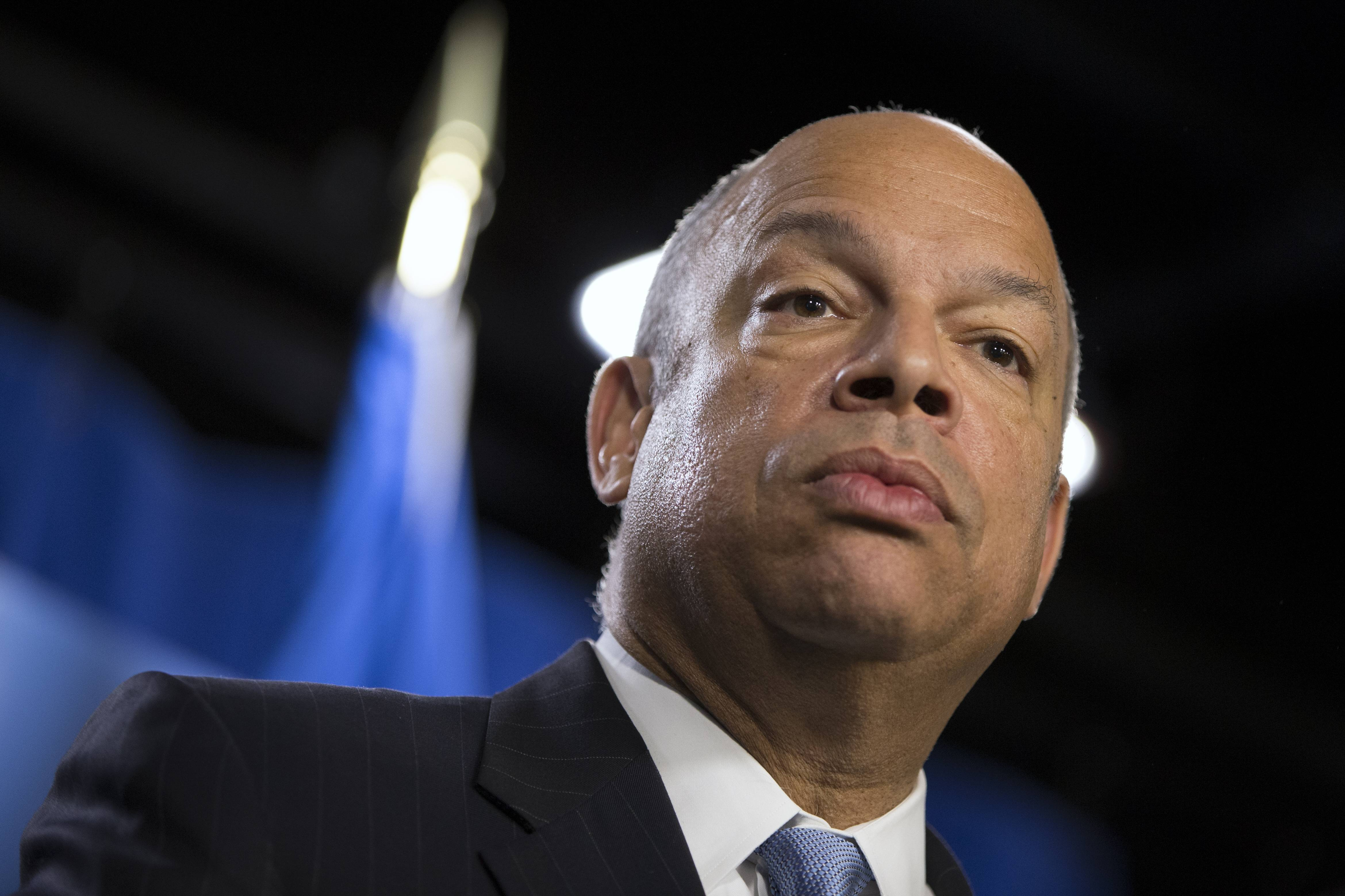Associated Press Department of Homeland Security Secretary Jeh Johnson, who's conducting a politically charged review of the nation's deportation policy, said Thursday, May 15 he's looking at making changes to a much-criticized program that runs people booked for local crimes through a federal immigration database.