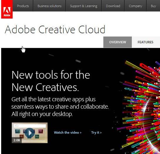 Adobe's Creative Cloud software subscription service has been inaccessible for the past day for the 1.8 million designers, Web developers and other creative professionals who pay to use it.
