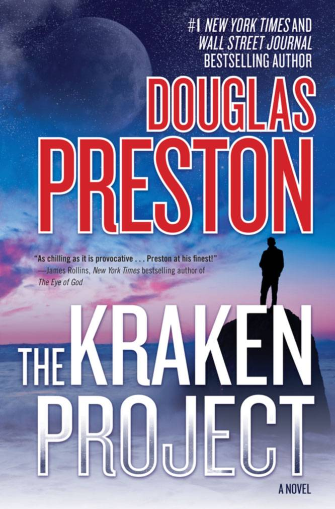 "Douglas Preston goes solo for his science thriller ""The Kraken Project."""