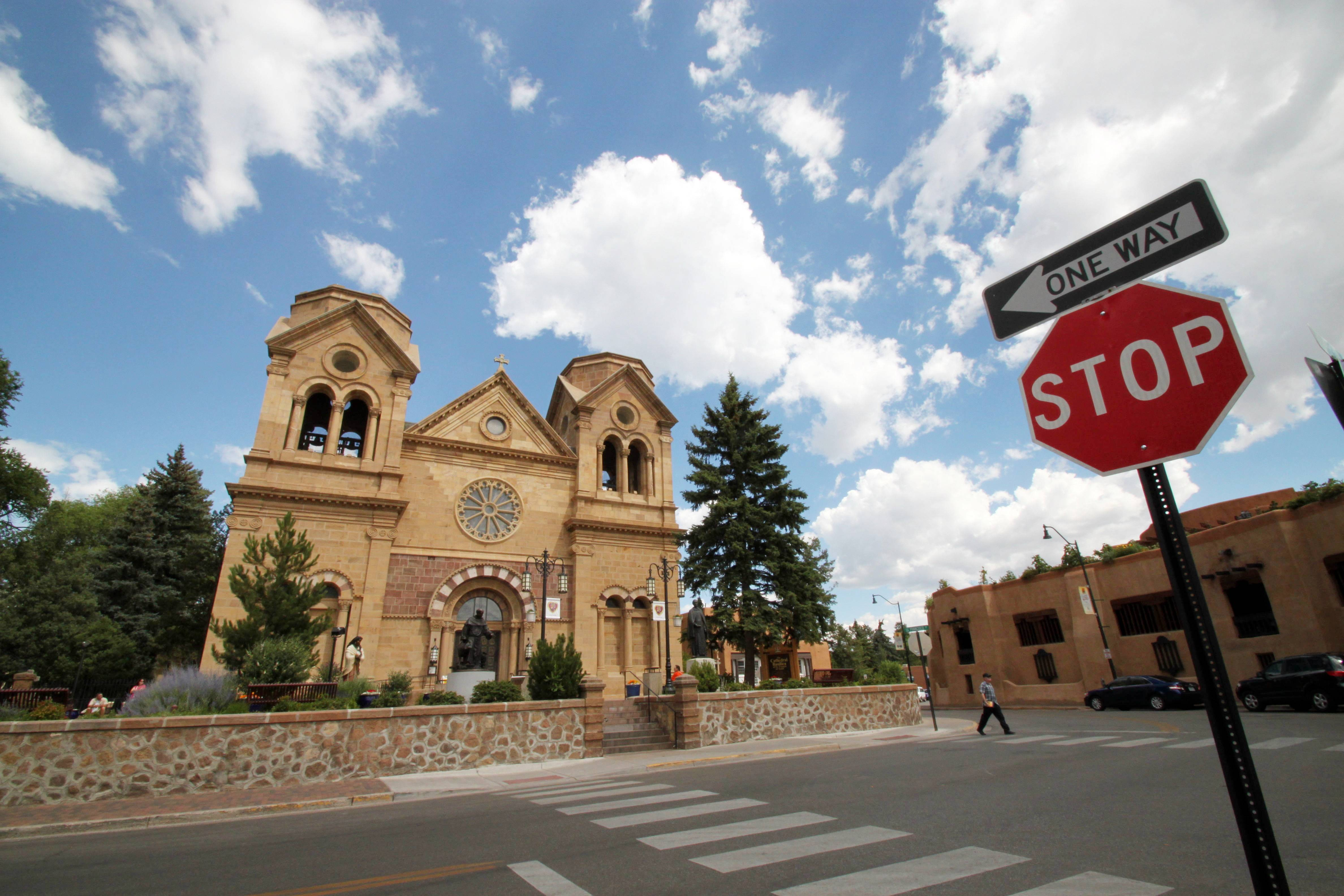 St. Francis Cathedral is one of many historic churches and missions in Santa Fe, N.M. Aside from being one of the city's most photographed landmarks, Pope Benedict XVI in 2005 declared the cathedral the Southwest's cradle of Catholicism.