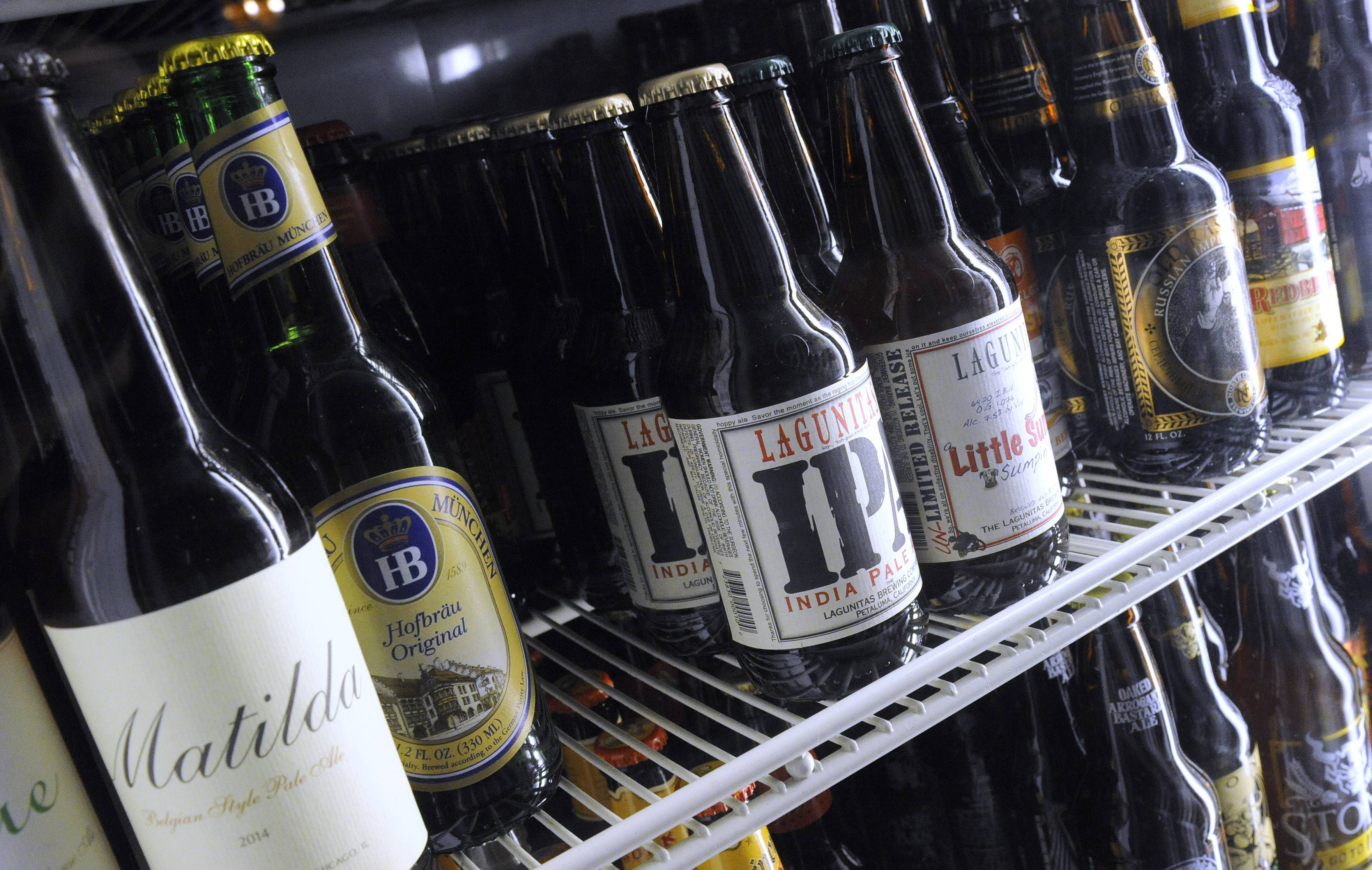 Owners have expanded the beer options at The Range Grill & Tap.