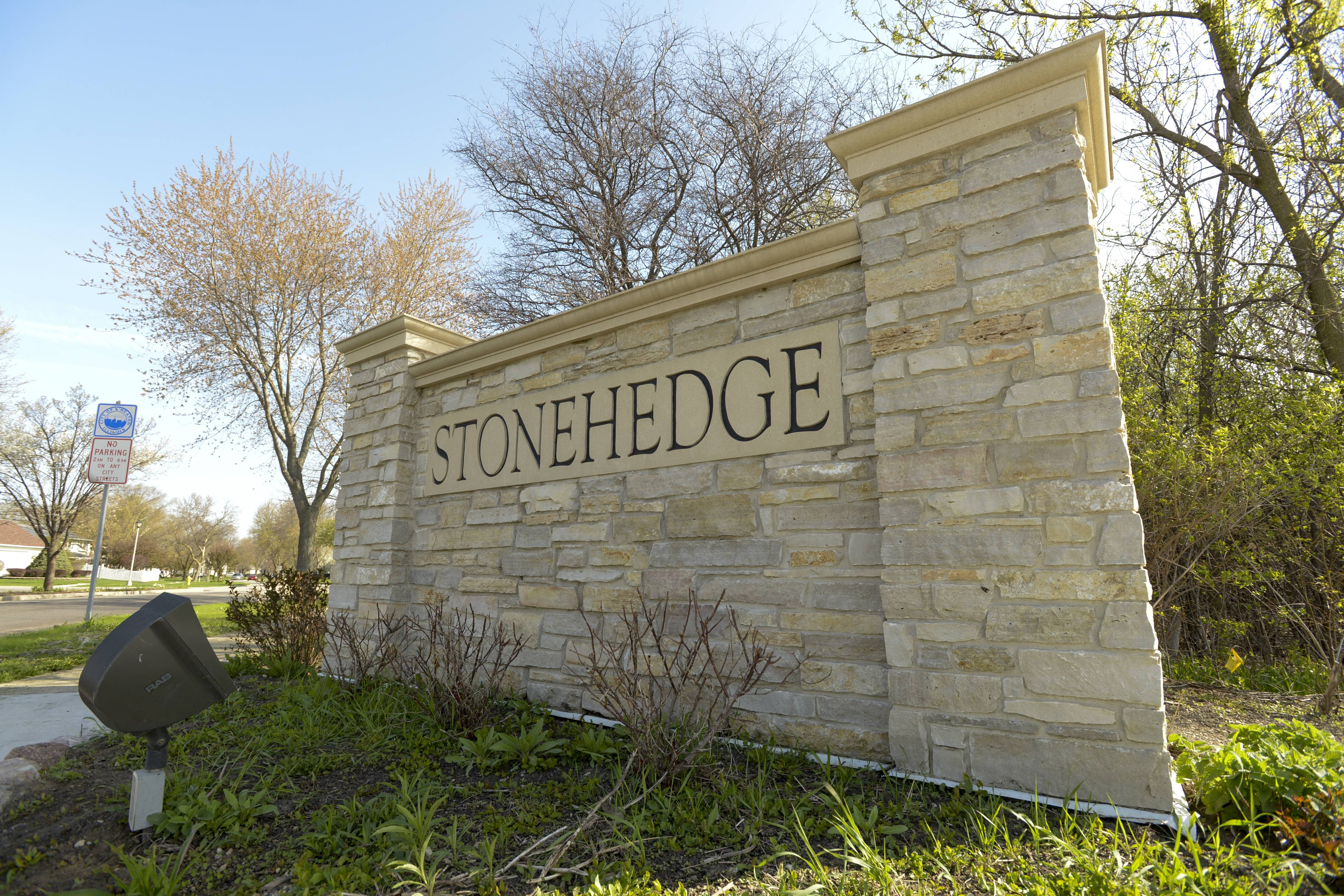 Stonehedge was built in the early 1980s by well-known homebuilders Joe and Ed Keim and Faganel Builders.