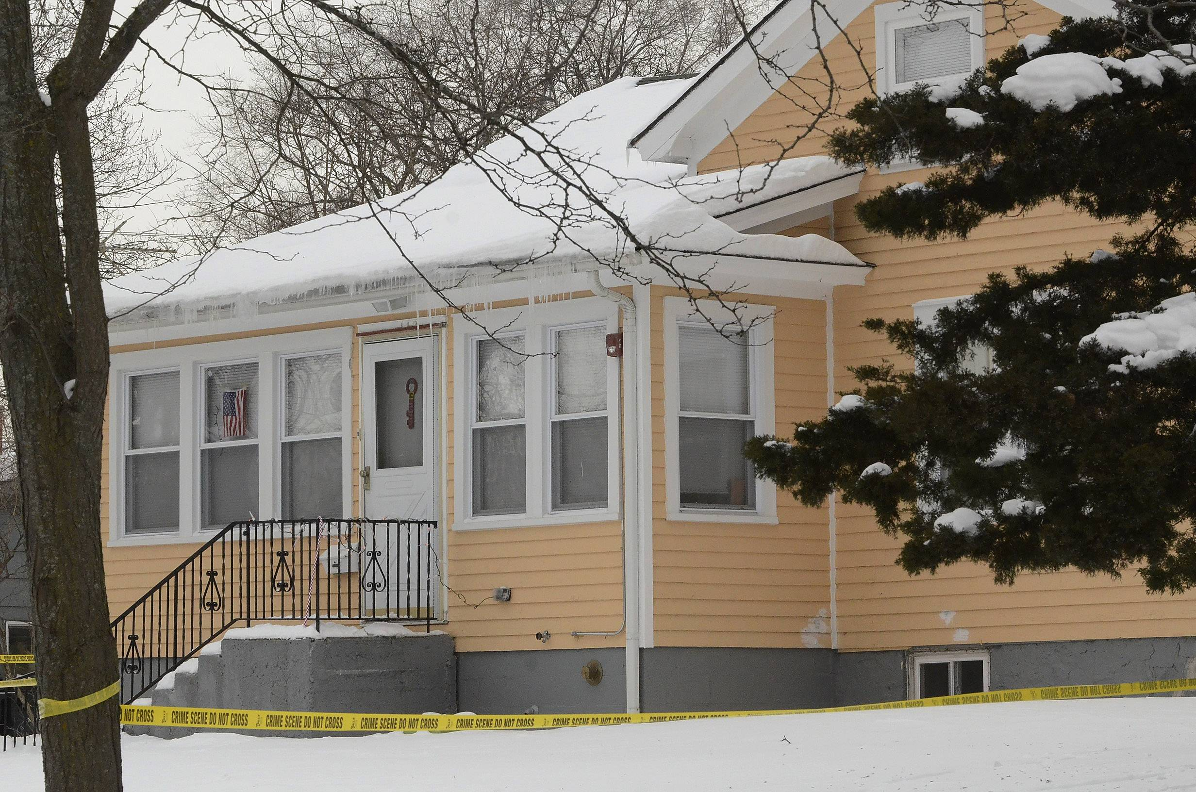 Barrington police and paramedics responded to the death of Mya G. Edwards Jan. 8 in a rented apartment inside this house on the 100 block of South Hager Avenue.