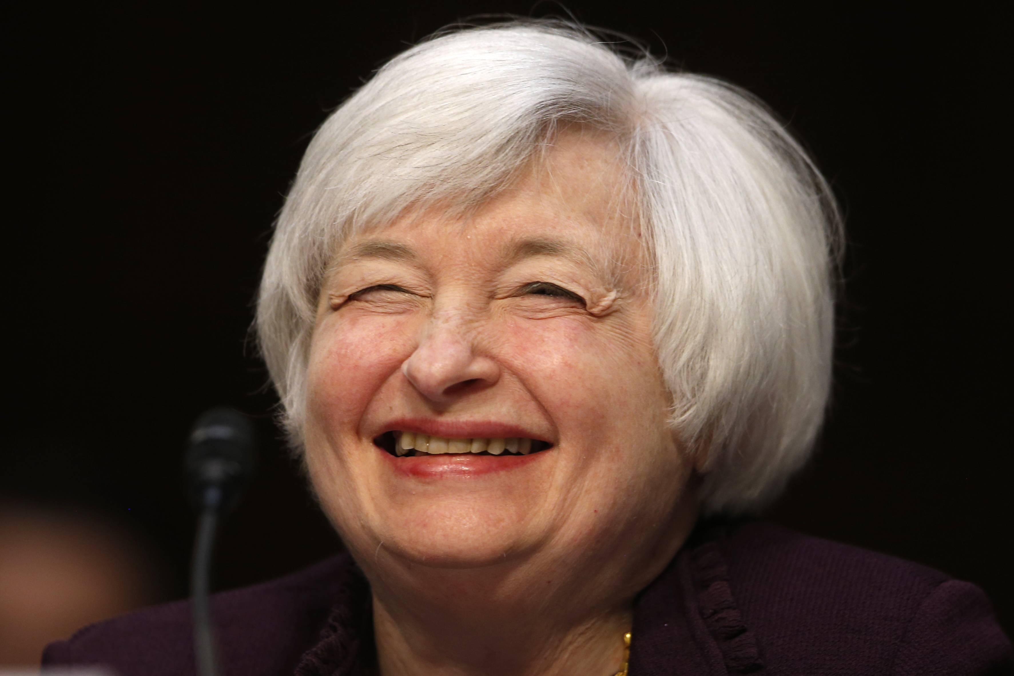 Federal Reserve Chair Janet Yellen is spotlighting the fact that U.S. small businesses have accounted for more than half the job gains during the nearly 5-year-old economic recovery.
