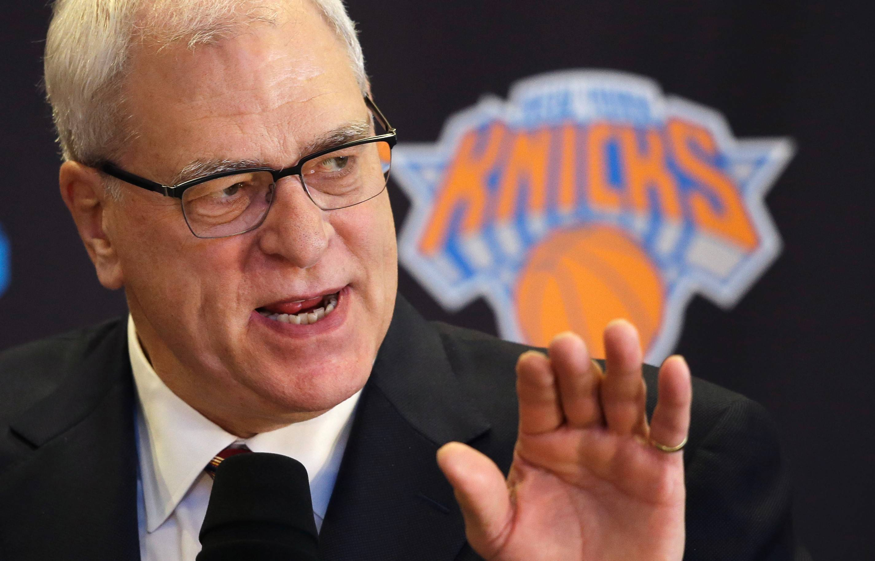 With Steve Kerr no longer an option, Phil Jackson, the new president of the New York Knicks, is still looking for a head coach.