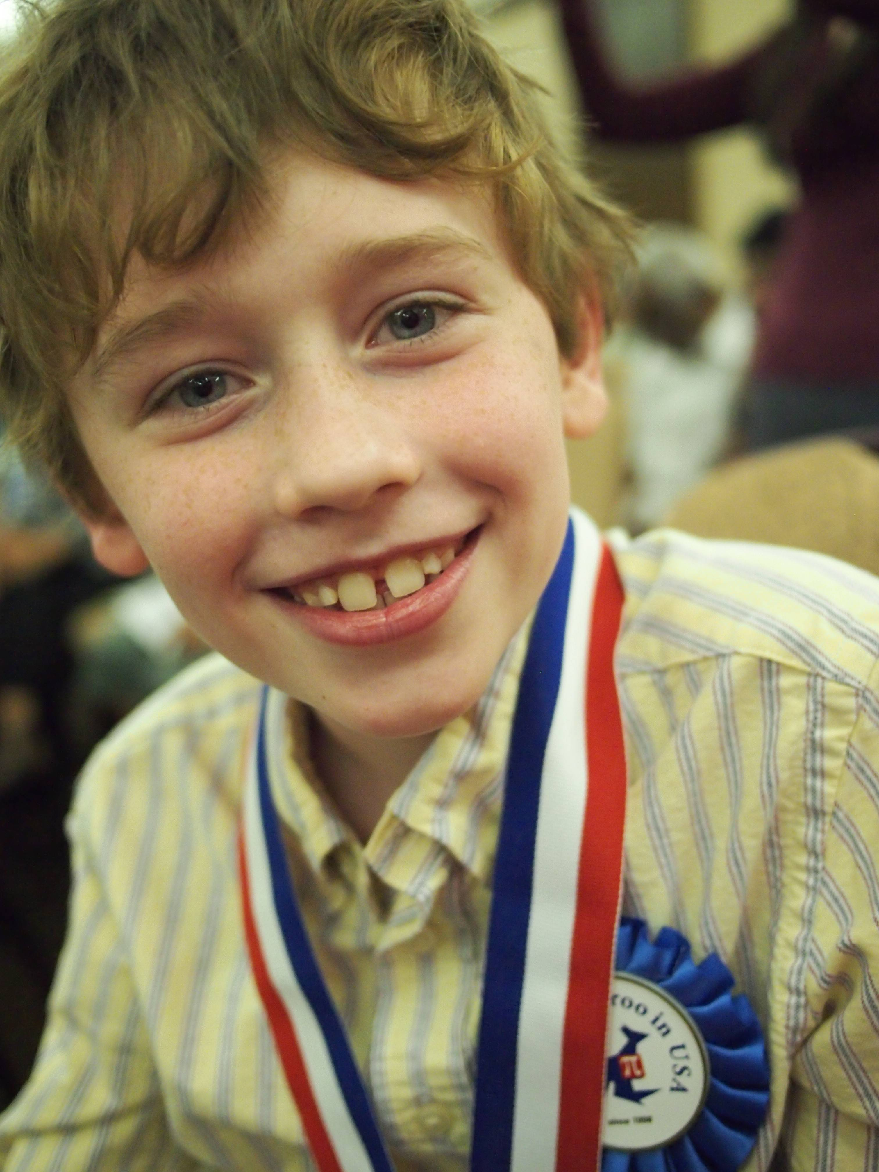 Benji Prins, 8, St. Mary School, Buffalo Grove