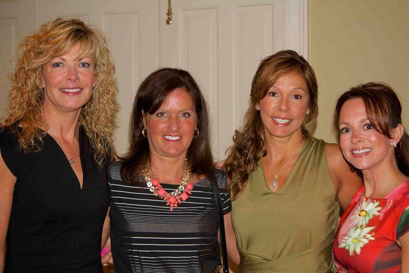 Left to right: Sharon Griffin (Event Chair), Kelly Valverde, Ilona Kazmer and Gina Stavrou.Natalie Randazzo