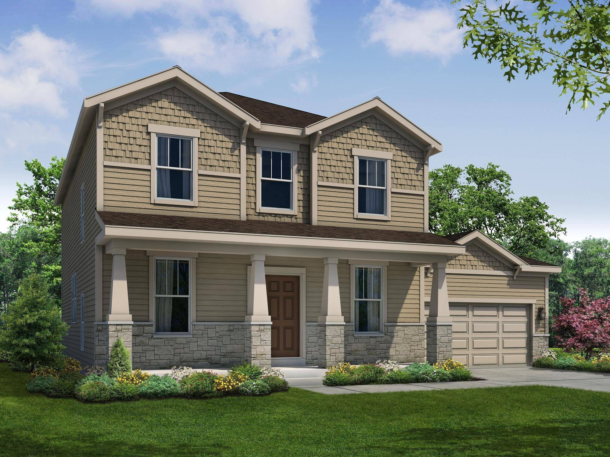 At its Highland Woods community in Elgin, William Ryan Homes will soon have a Shannon floor plan available for move in.