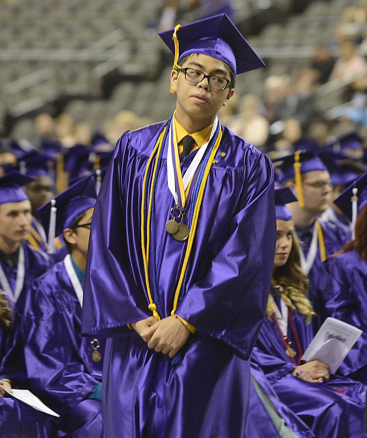 Images from the Hampshire High School graduation Saturday, May 17th.