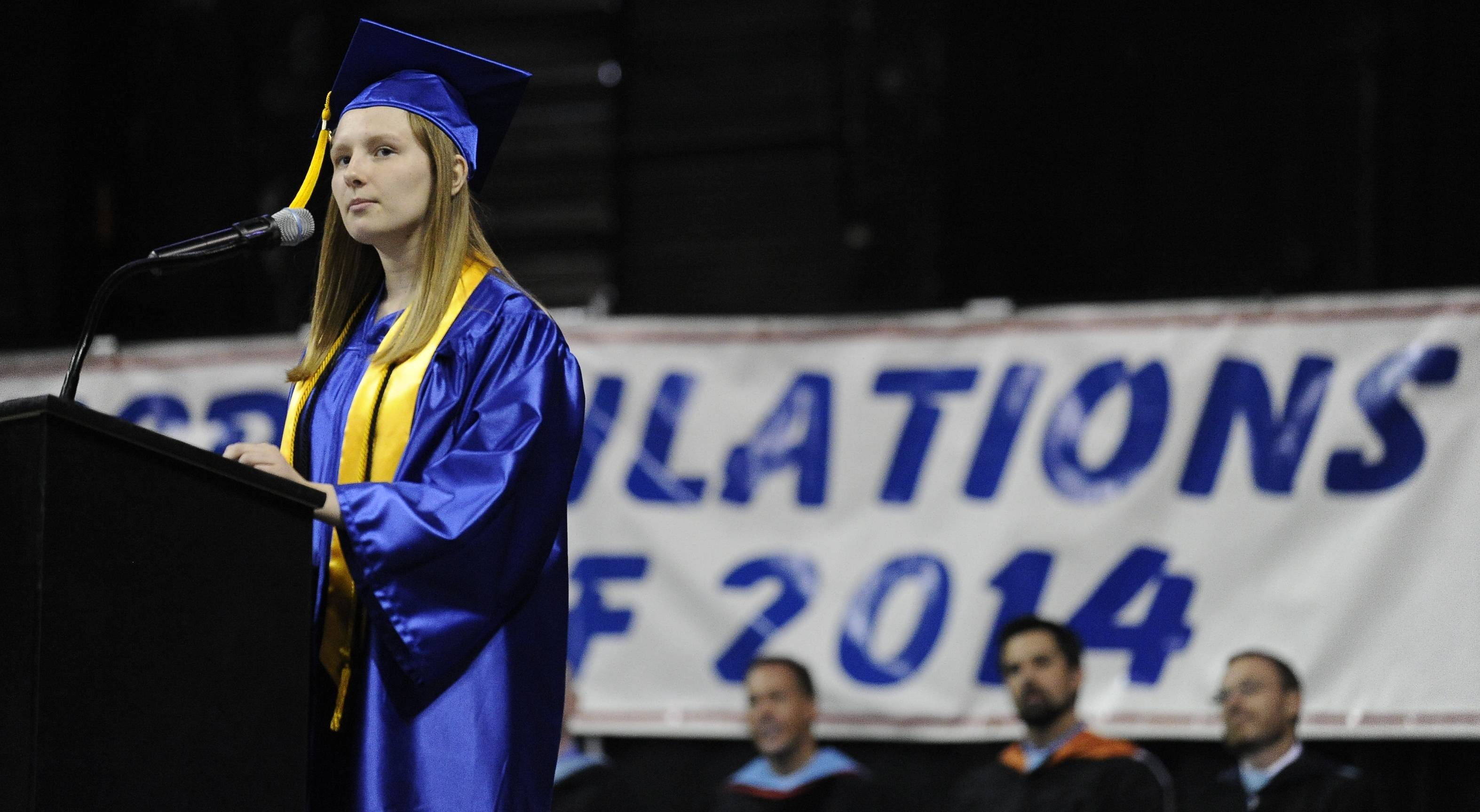Images from the Dundee-Crown High School graduation Saturday, May 17th.