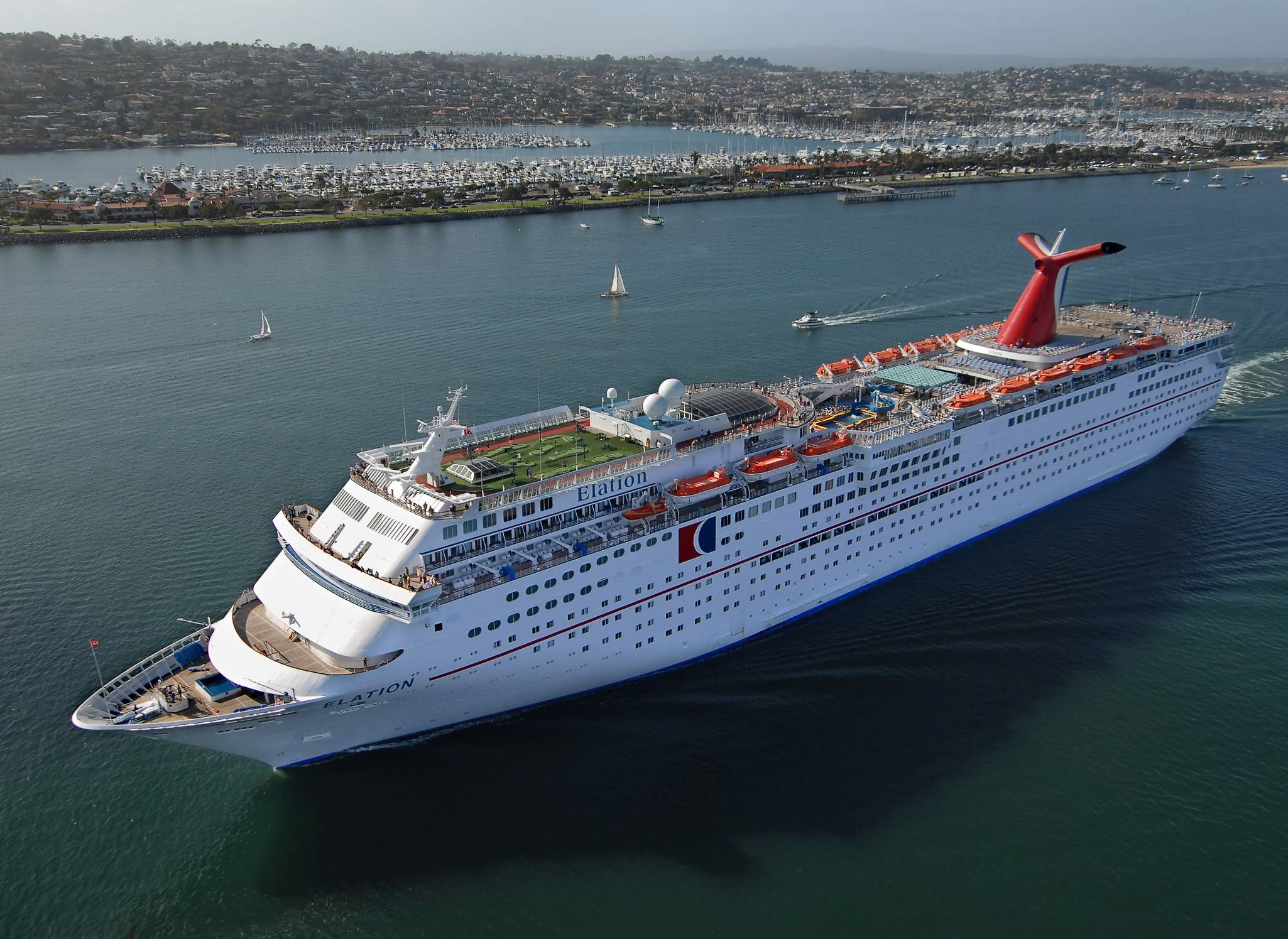 Carnival will dispatch a fourth ship to China next April, escalating the battle for passengers in the fastest-growing cruise market.