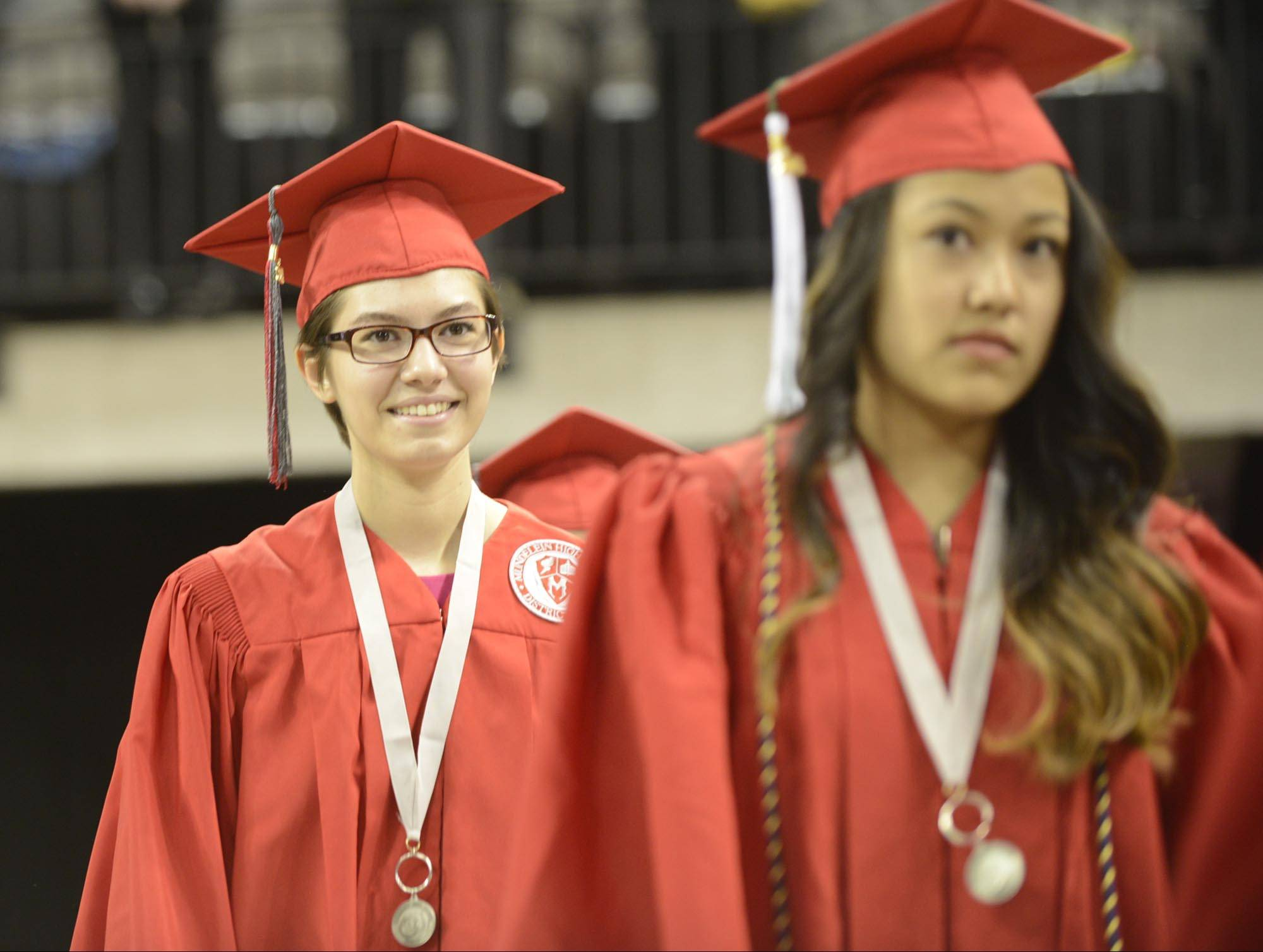 Images from the Mundelein High School graduation on Sunday, May 18 at the Sears Centre in Hoffman Estates.