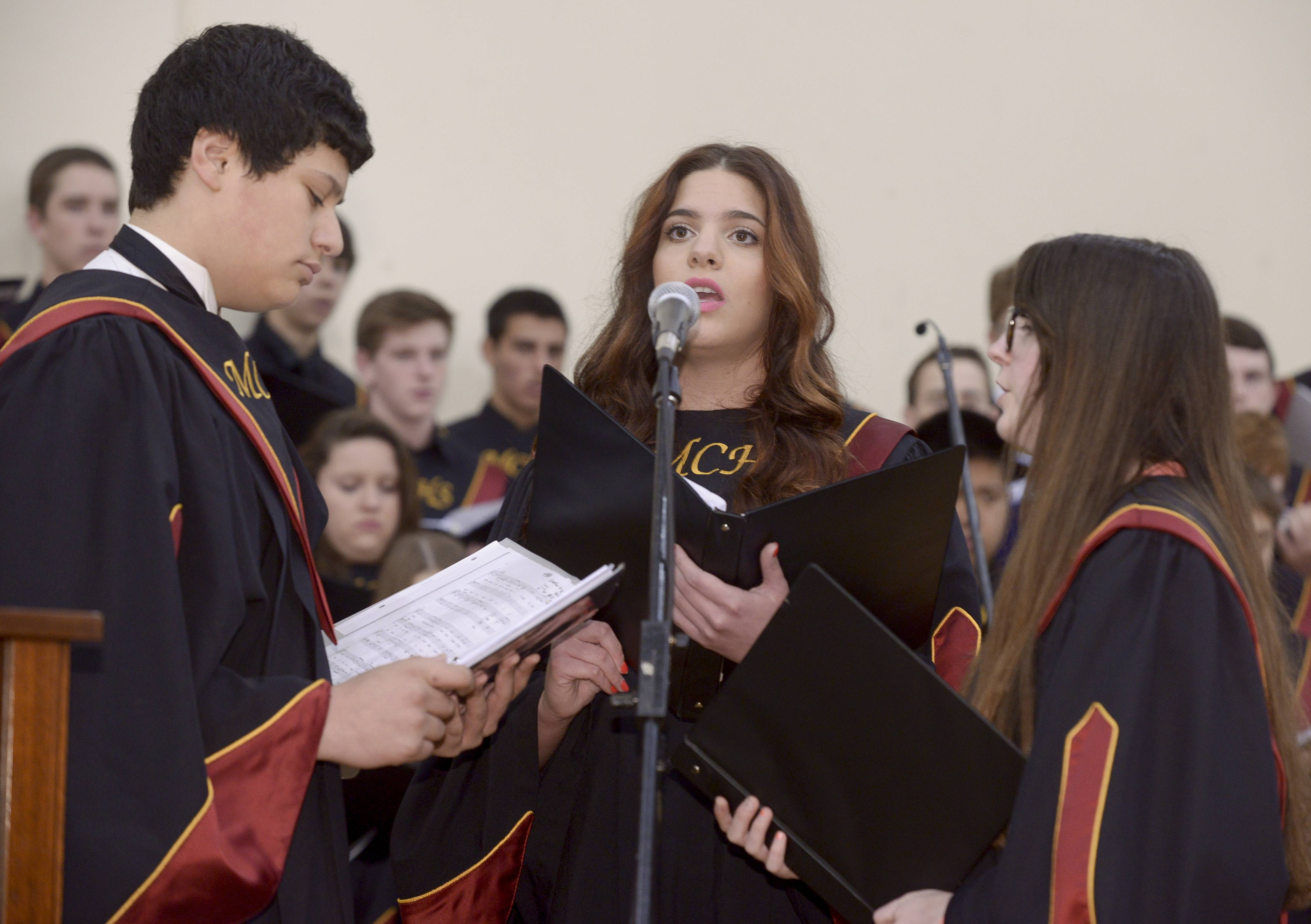 Montini Catholic High School held its graduation Sunday, May 18 at Montini in Lombard.