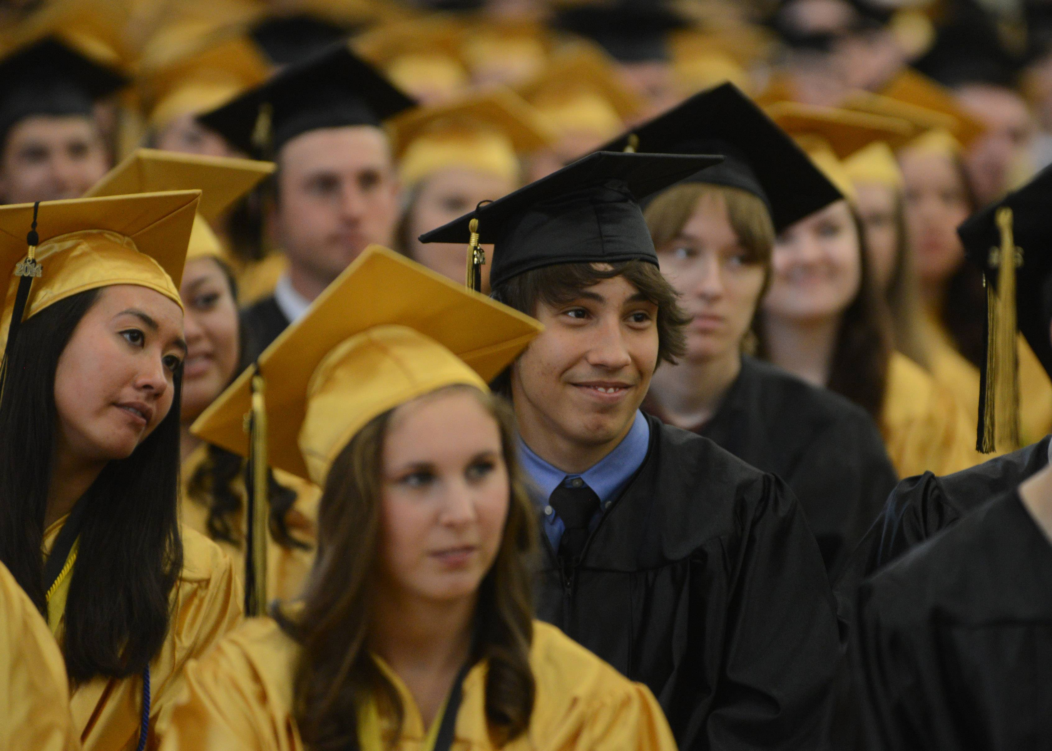 Images from the Grayslake North High School graduation on Sunday, May 18 in Grayslake.