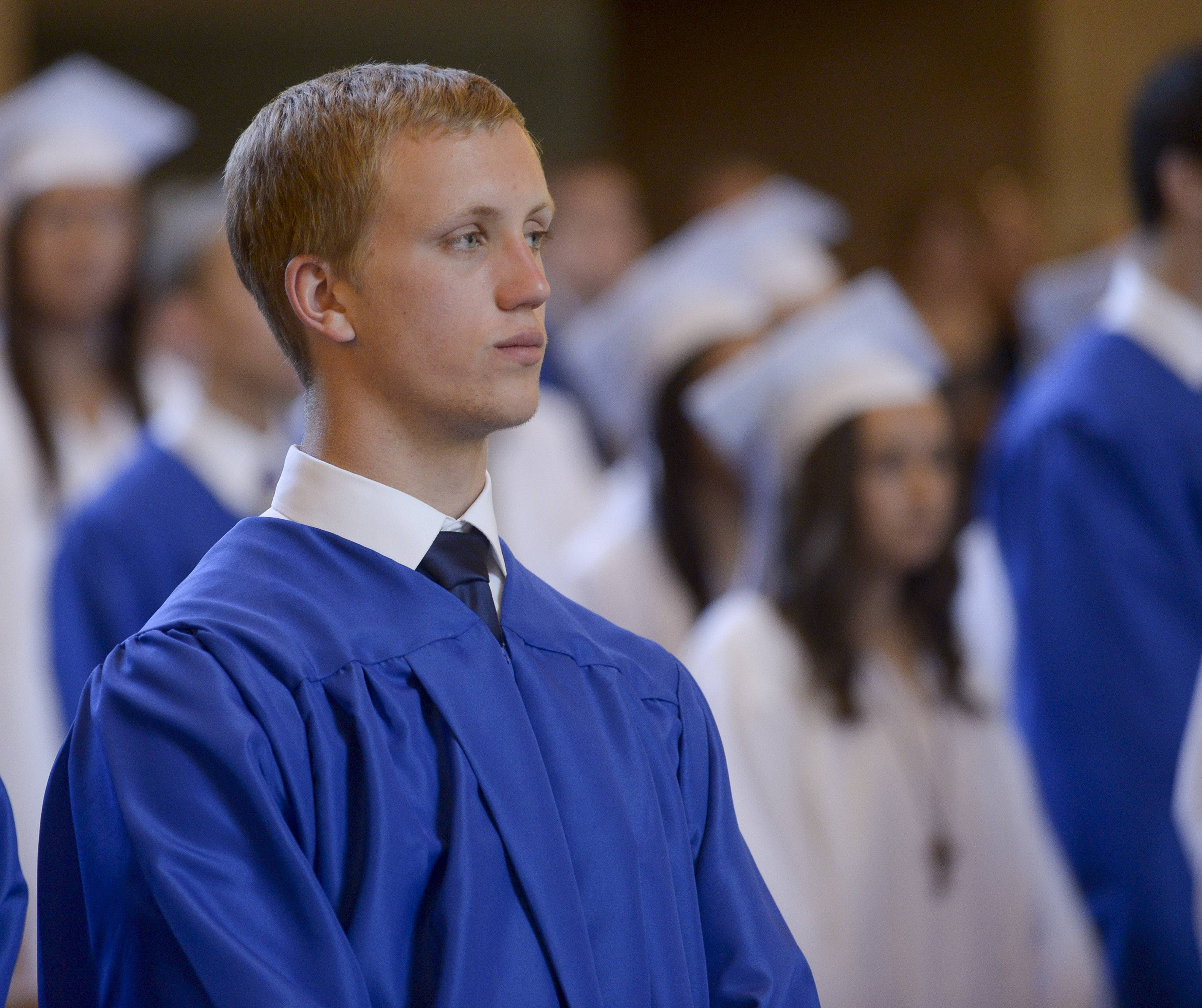 St. Francis High School held its graduation Sunday, May 18 at St. John Neumann Church in St. Charles