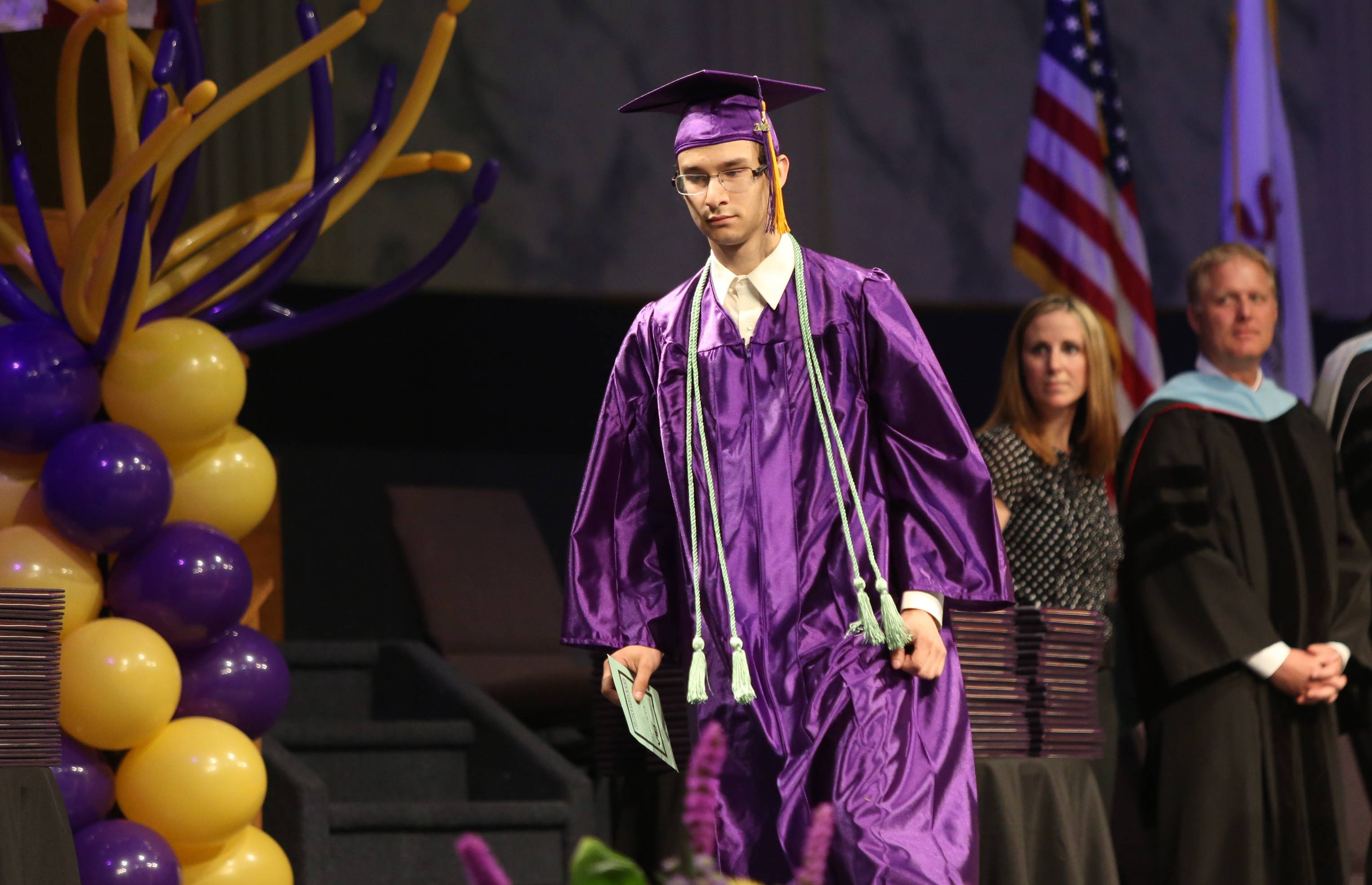 Images from the Wauconda High School graduation on Sunday, May 18 at the Quentin Road Bible Church in Lake Zurich.