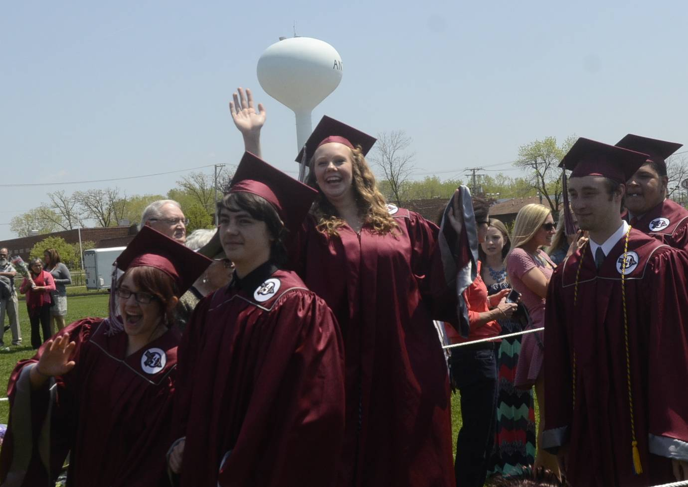 Images from the Antioch High School graduation on Sunday, May 18 in Antioch.