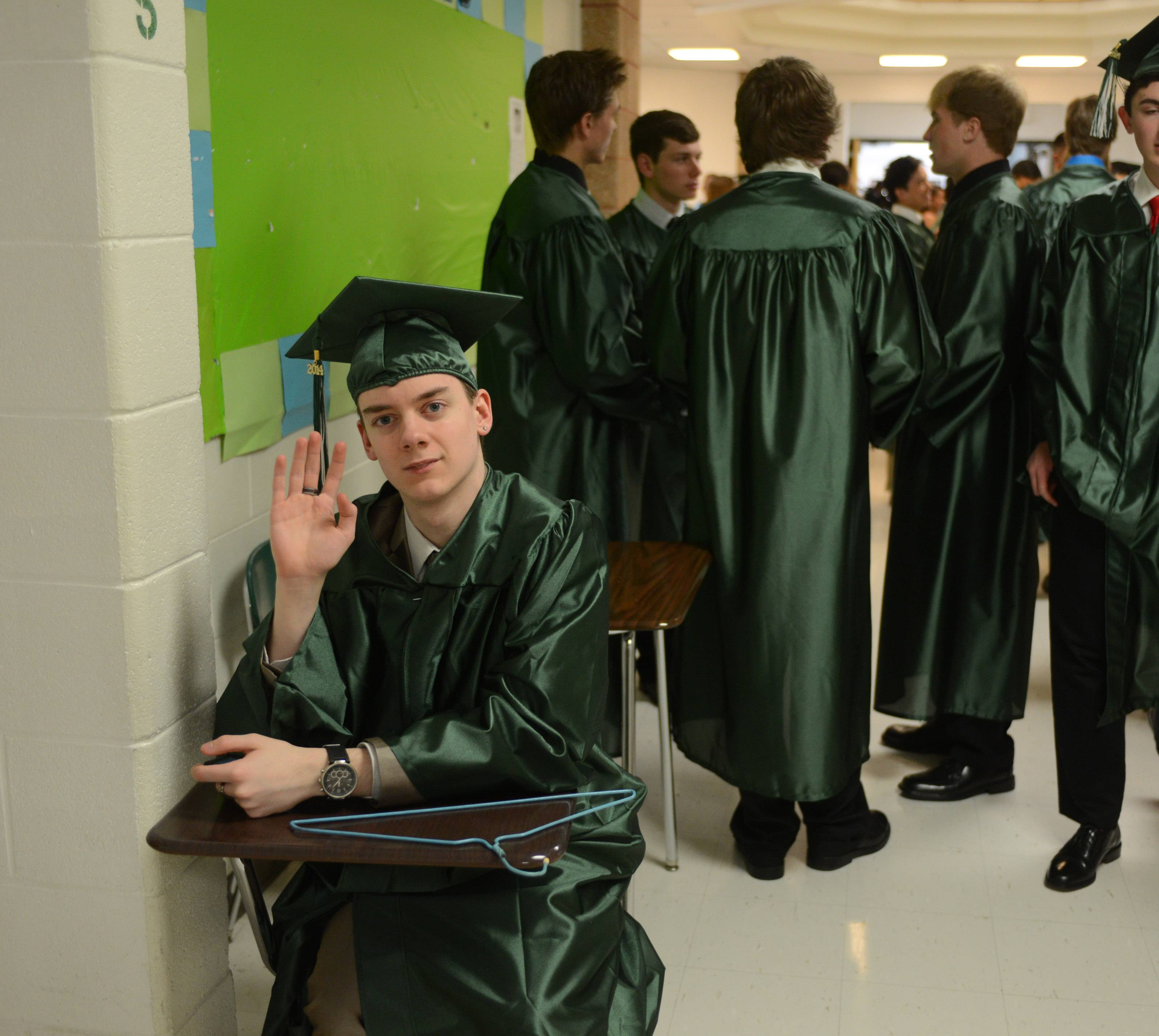 Images from the Grayslake Central High School graduation on Sunday, May 18 in Grayslake.