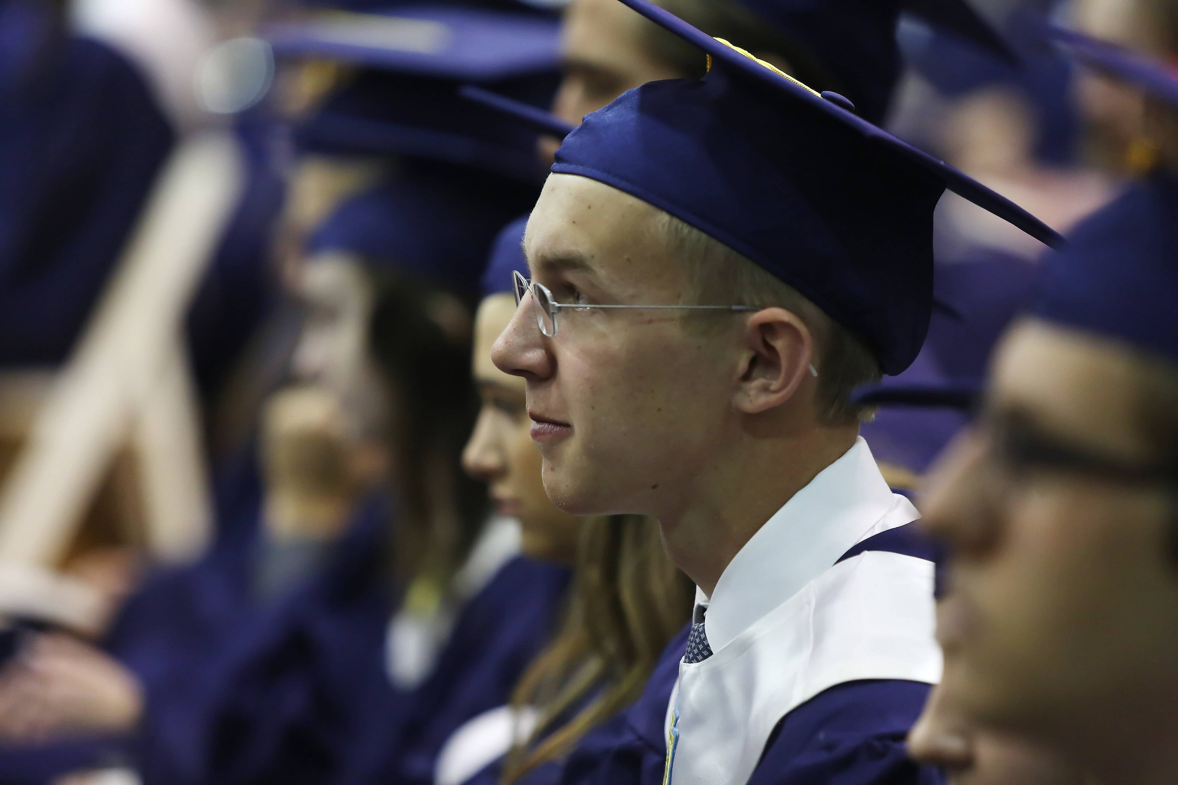 Images from the St. Viator High School graduation on Sunday, May 18th, in Arlington Heights.
