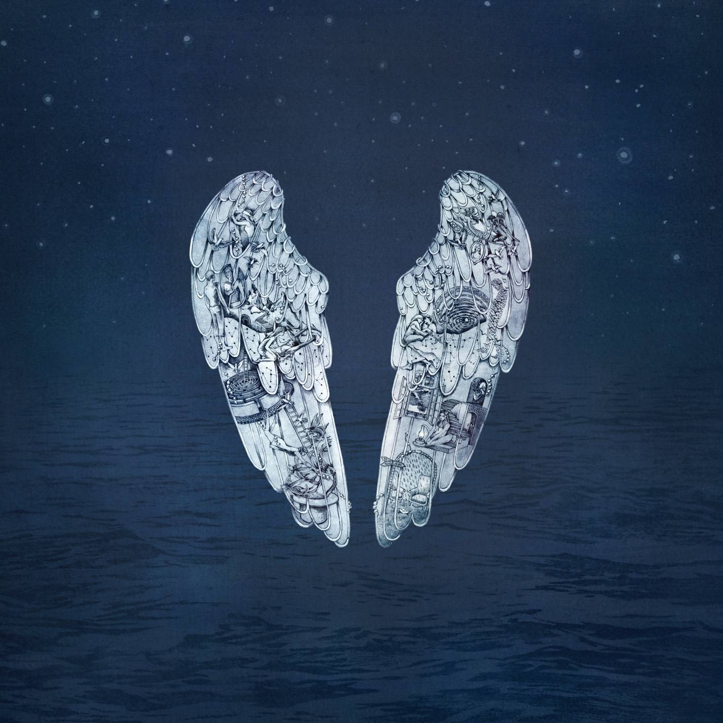 "On Coldplay's ""Ghost Stories,"" there's little piano, guitar or percussion, and there are few memorable melodies or surprises."