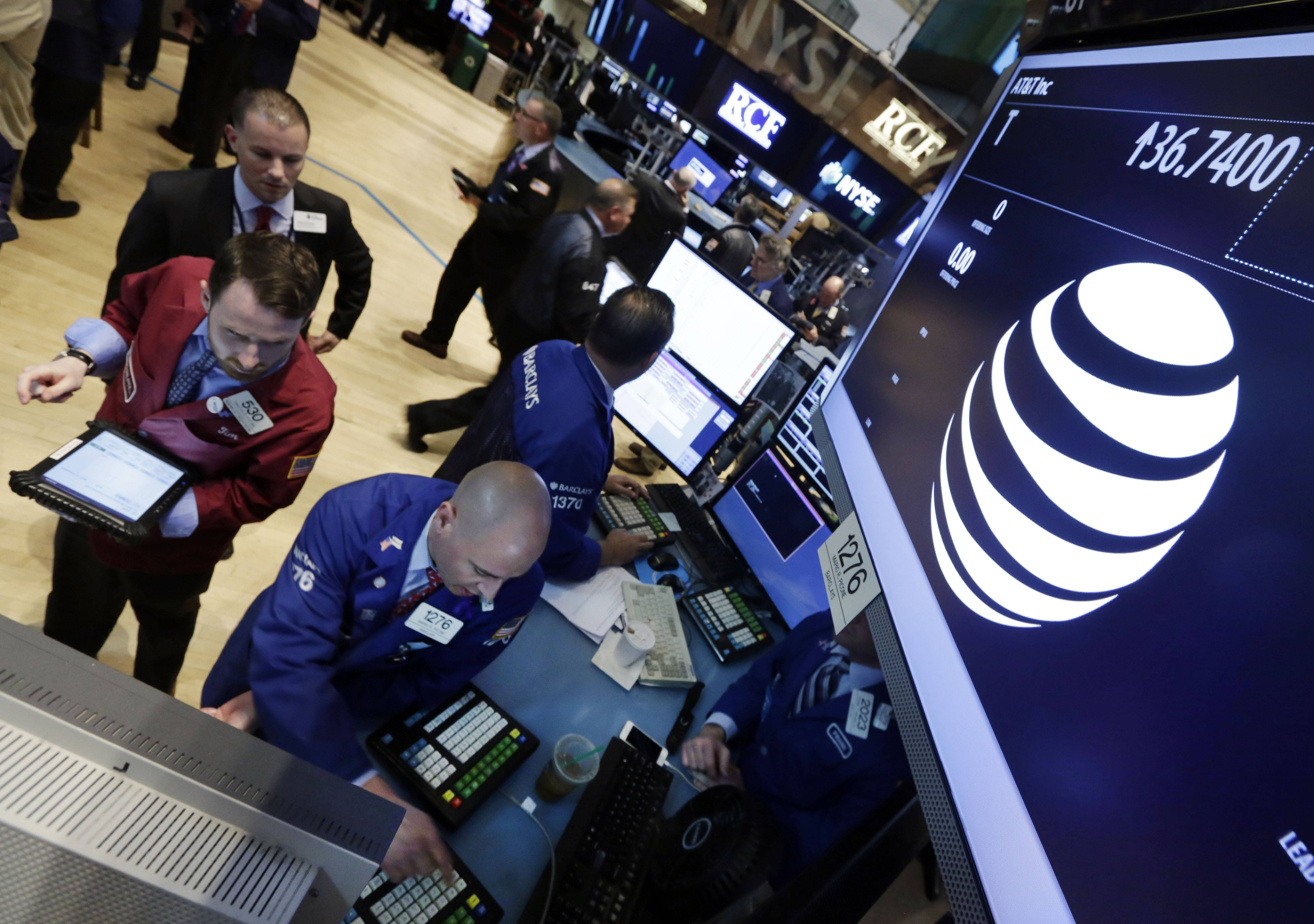 The stock market drifted to a higher finish on Monday. With no major new economic data to chew on, investors focused on a batch of news on corporate deals, including AT&T's proposed takeover of satellite TV provider DirecTV.
