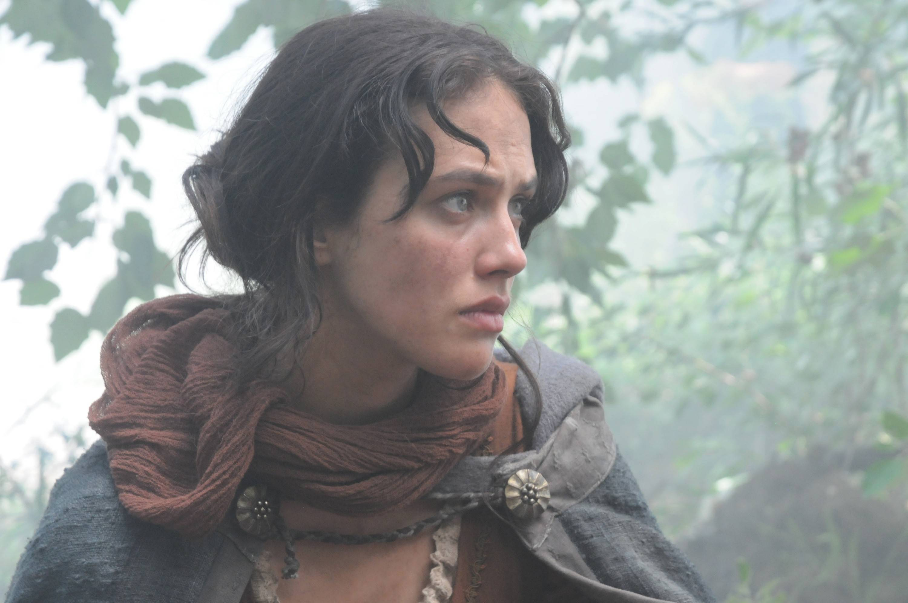 "Alais (Jessica Brown Findlay) is entrusted with a special book and engraved ring in ""Labyrinth,"" a miniseries that ties together two women living centuries apart."