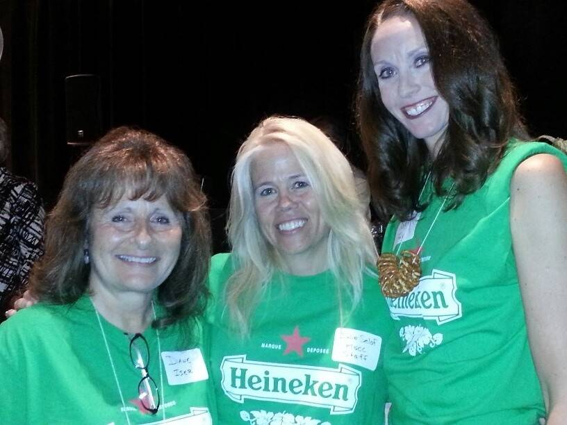 "Pictured at last year's ""Beers To You!"" fundraiser, from left, are: Diane Iser, beer tasting committee member; Julie Selof, Palatine Township Senior Citizens Council and Karen Fay, beer tasting committee member."
