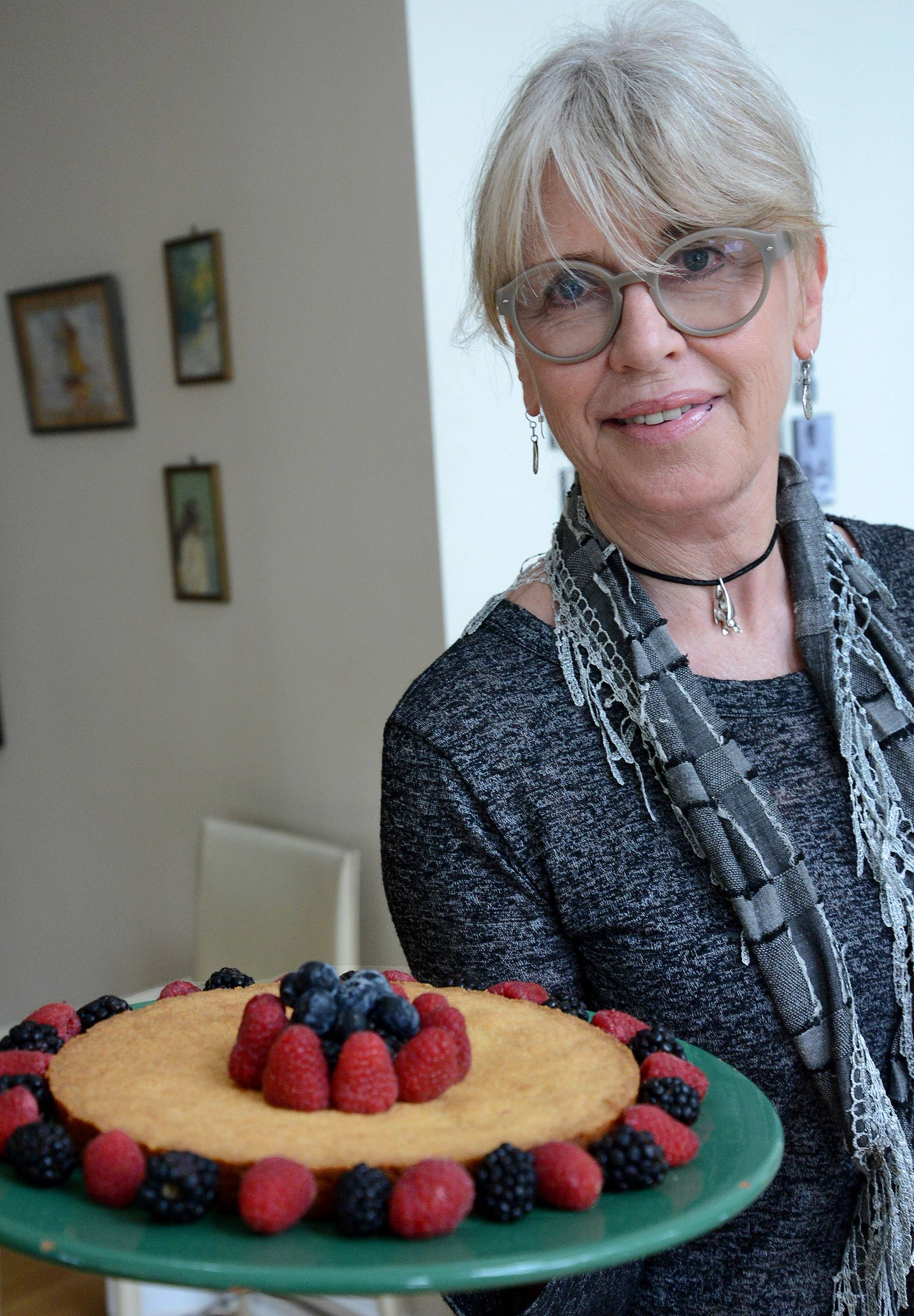 When she wants a taste of Holland, Marianne Anderson of Barrington bakes a batch of buttery boterkoek.