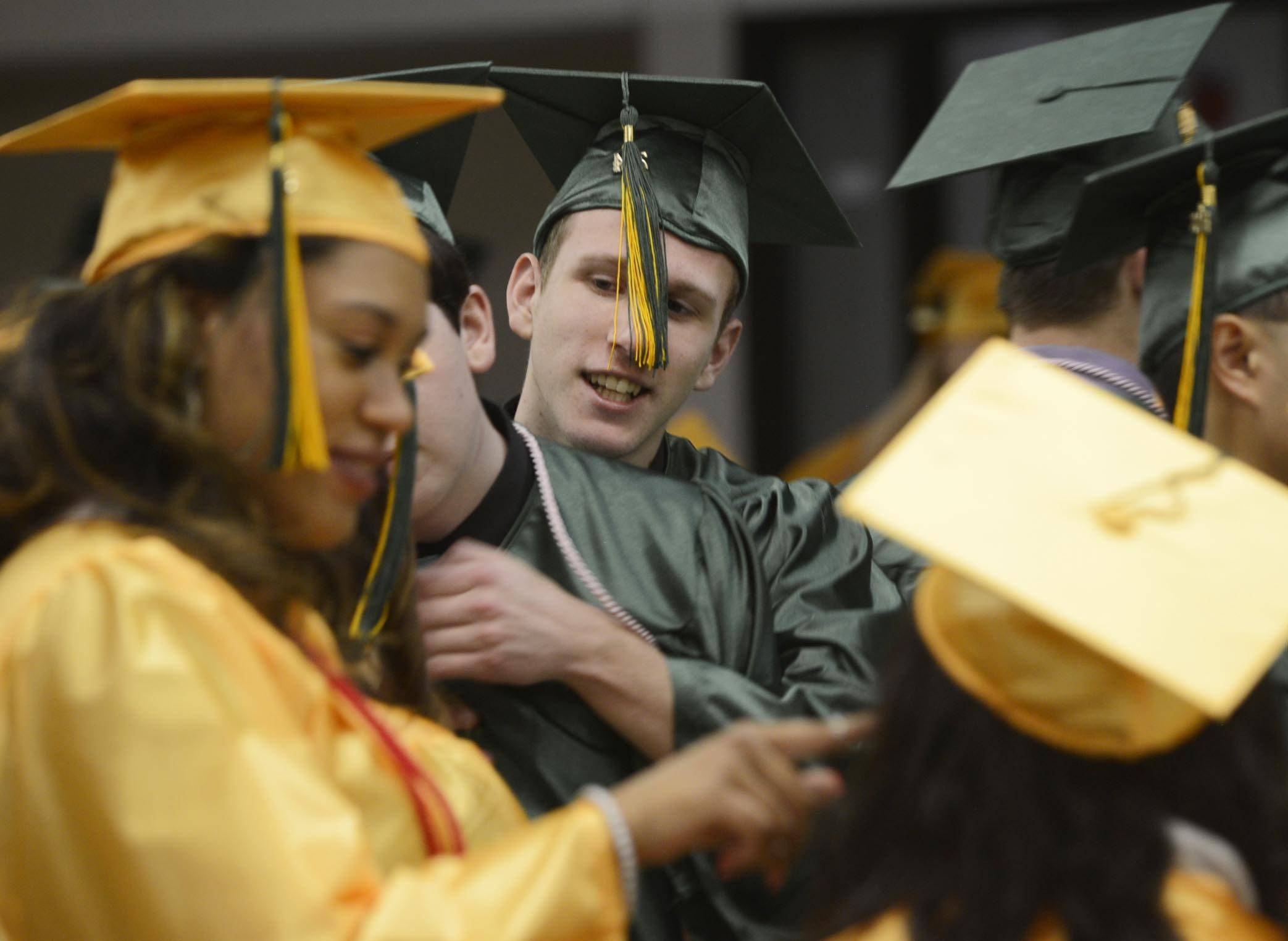 Images from the St. Edward High School graduation Tuesday, May 20th.