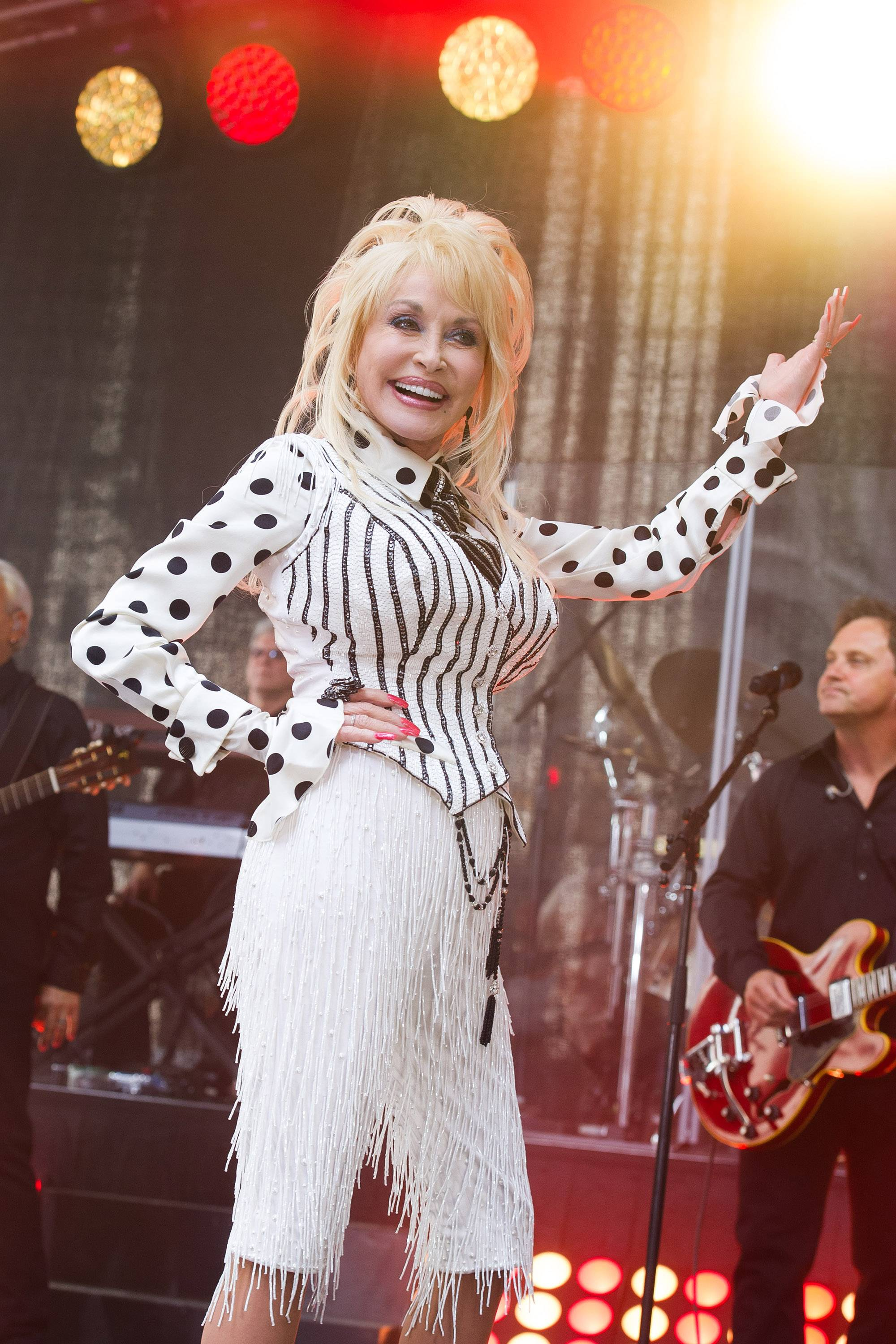 "The newly released ""Blue Smoke"" is Dolly Parton's first album in three years."