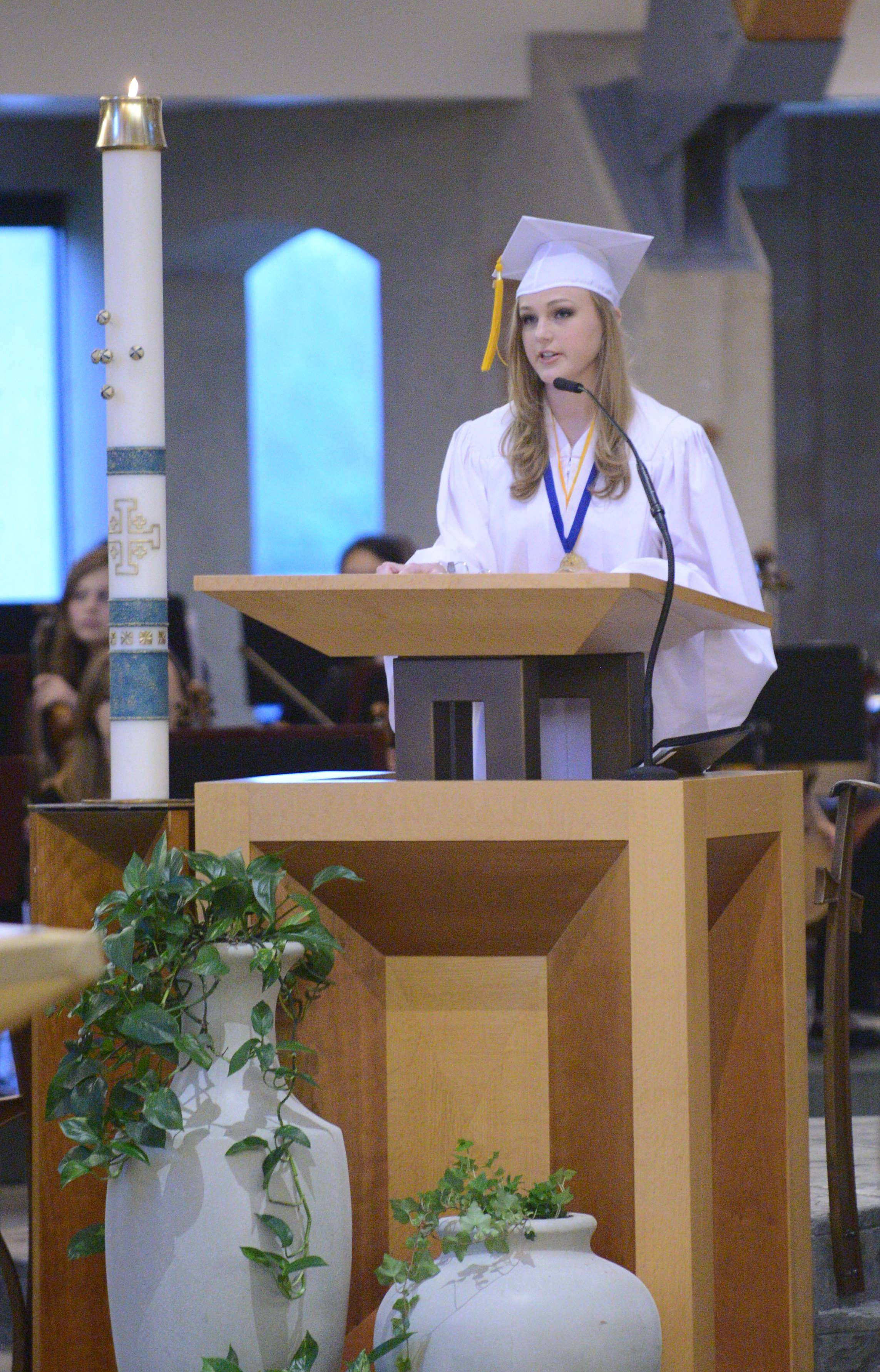 Images from the Rosary High School graduation Tuesday, May 20th.