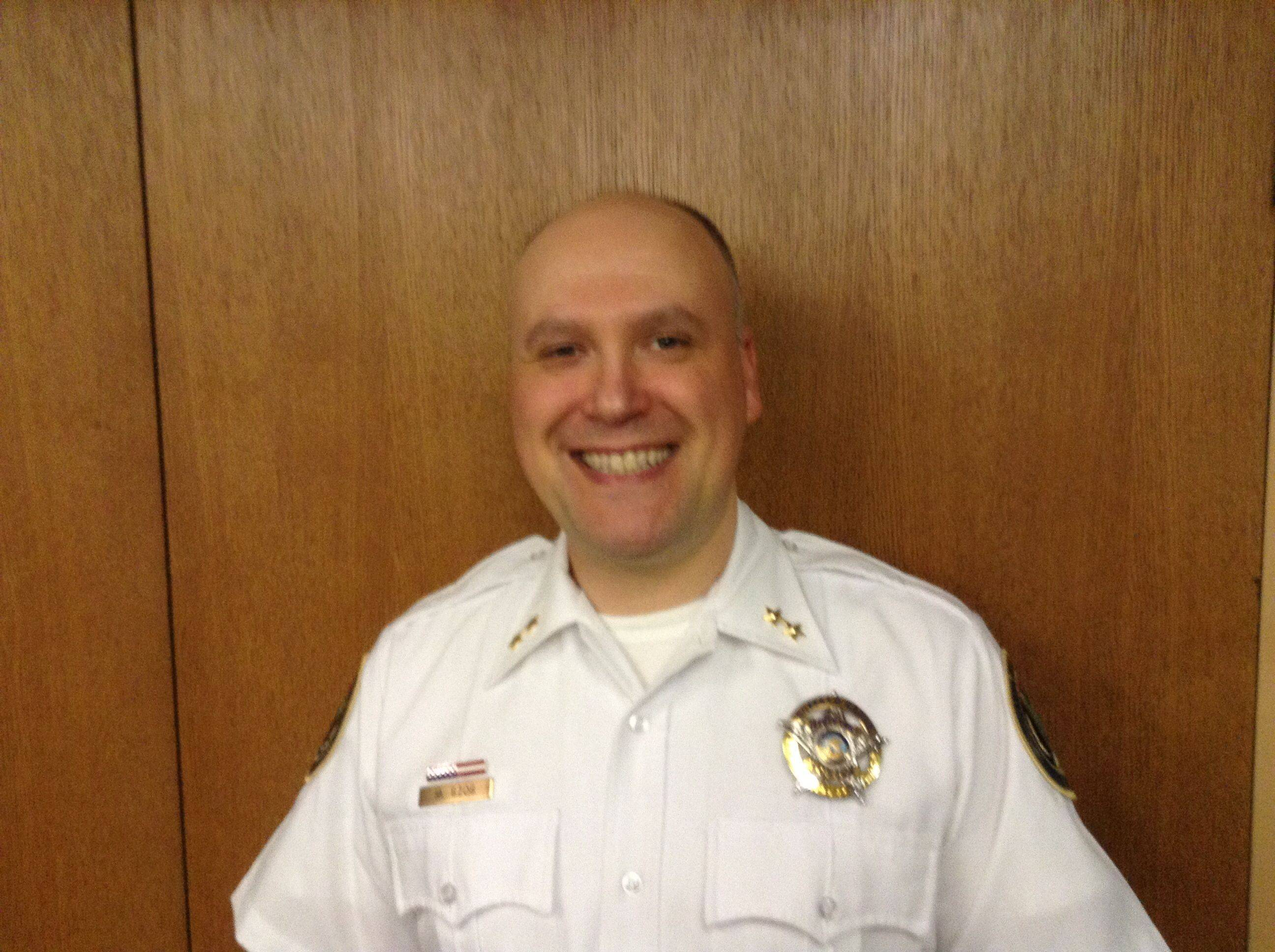 Buffalo Grove Deputy Police Chief Mike Szos