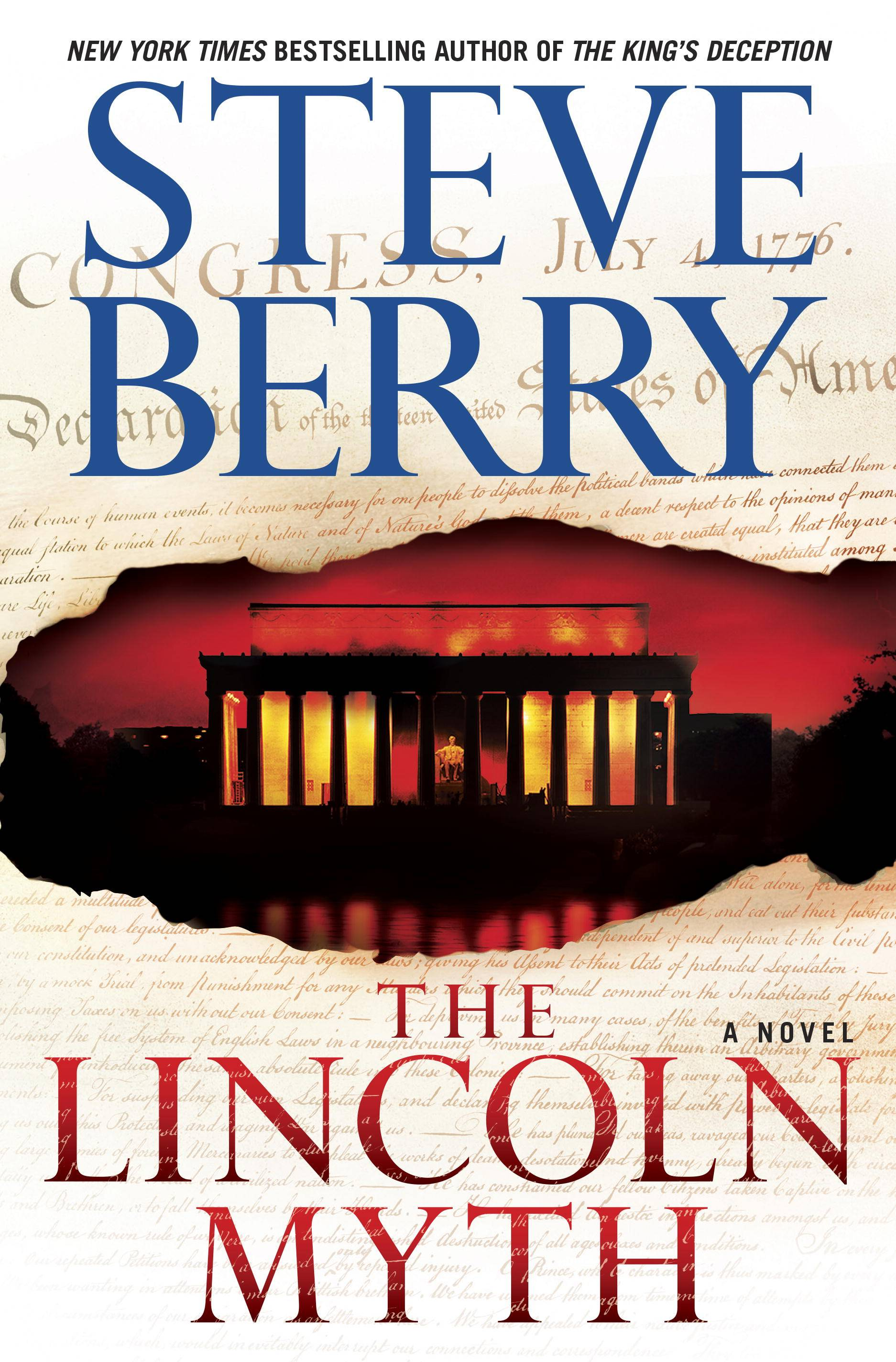 "Steve Berry delivers a compelling story with ""The Lincoln Myth."""
