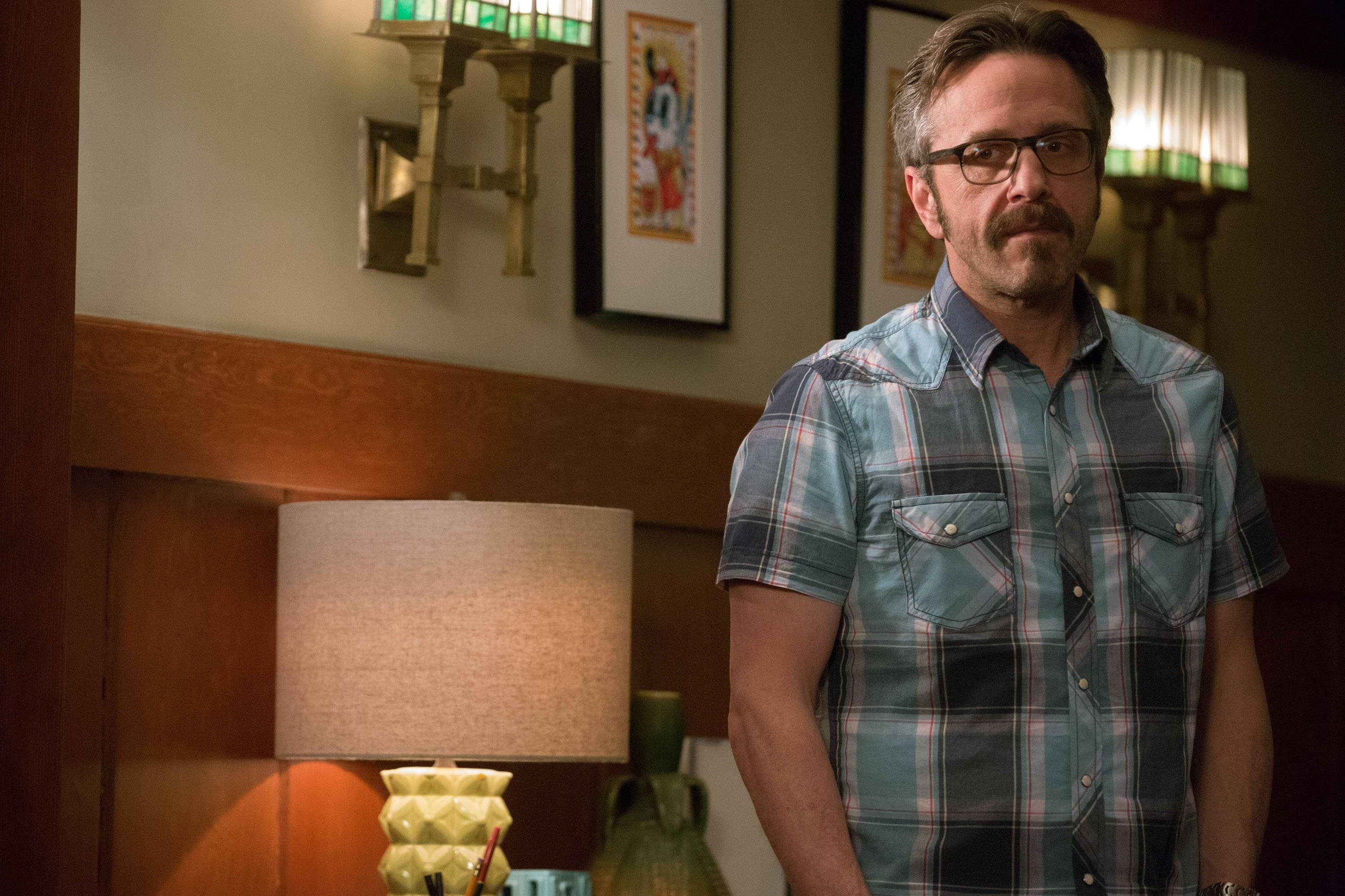 "Marc Maron headlines one of TV's funniest shows: the scripted comedy ""Maron,"" whose second season is airing Thursdays on IFC."