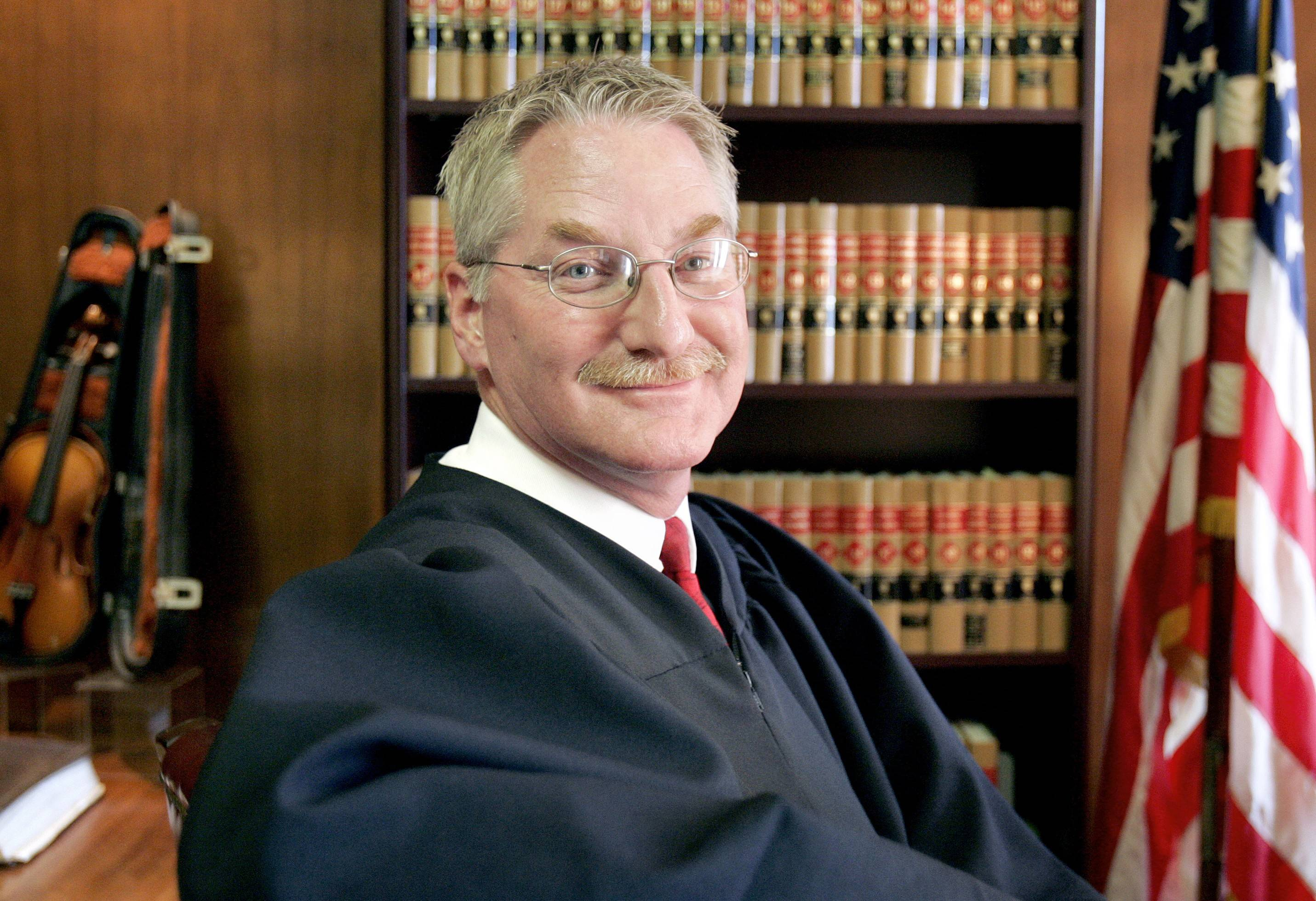 Former Lake County Chief Judge David Hall, 61, died Tuesday