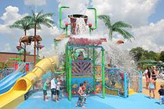Atcher Island is the District's tropical themed water park.Schaumburg Park District