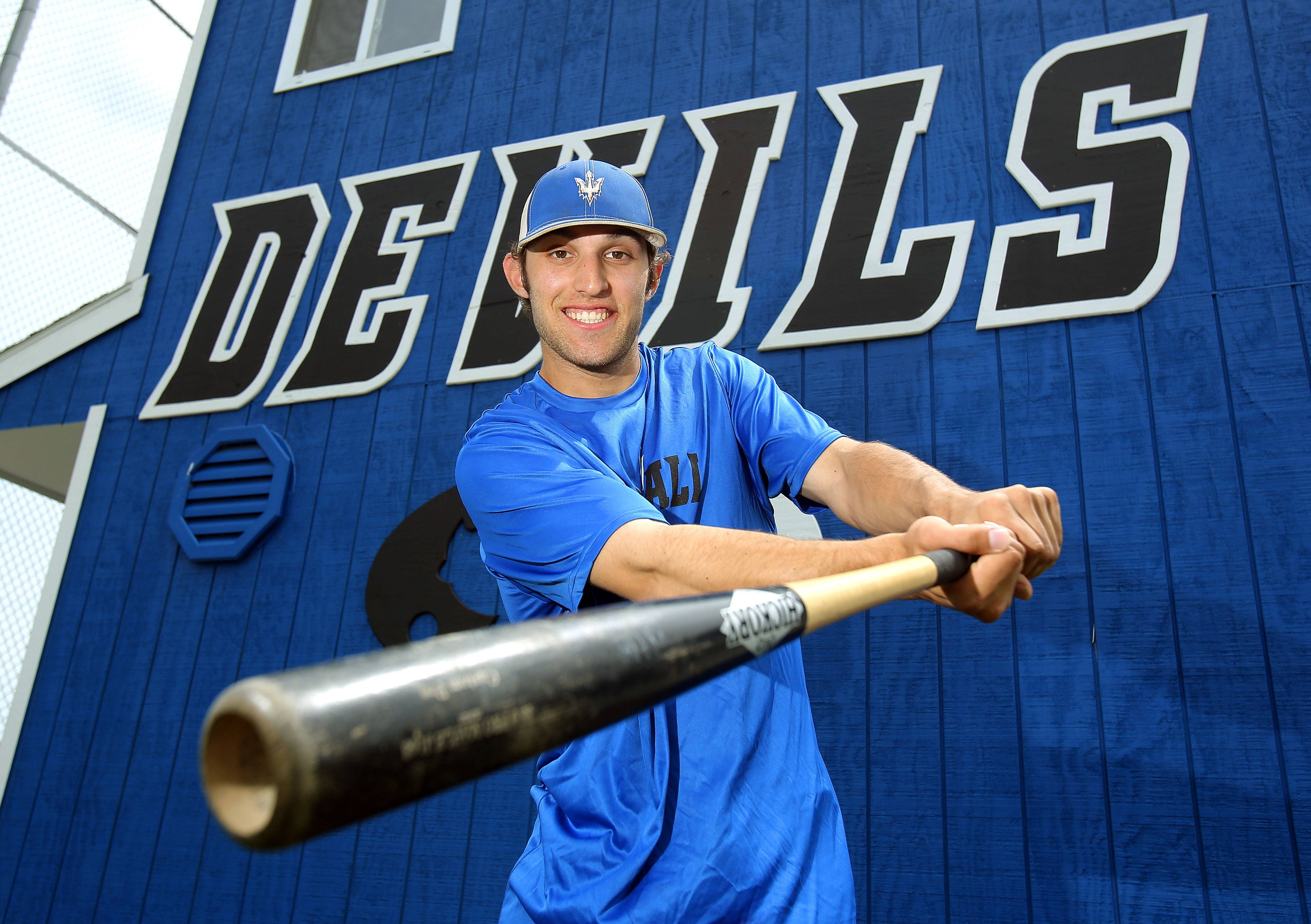 Warren left fielder Ben Dinter is having a great year at the plate and in the outfield for the Devils.