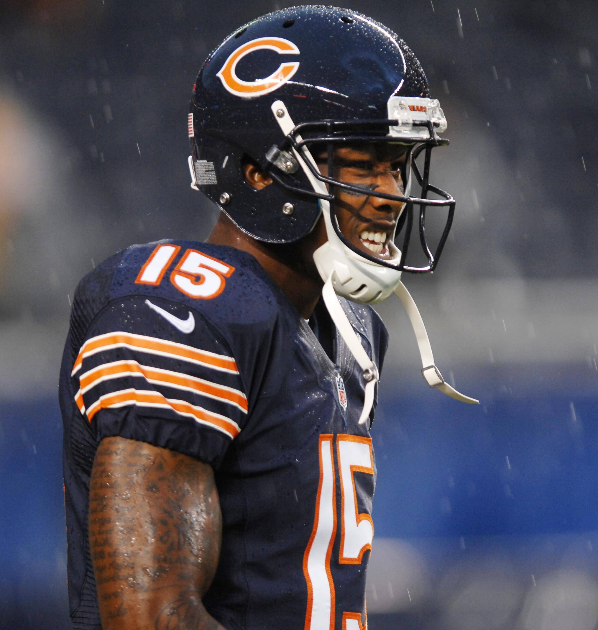 Marshall gets emotional over Bears deal