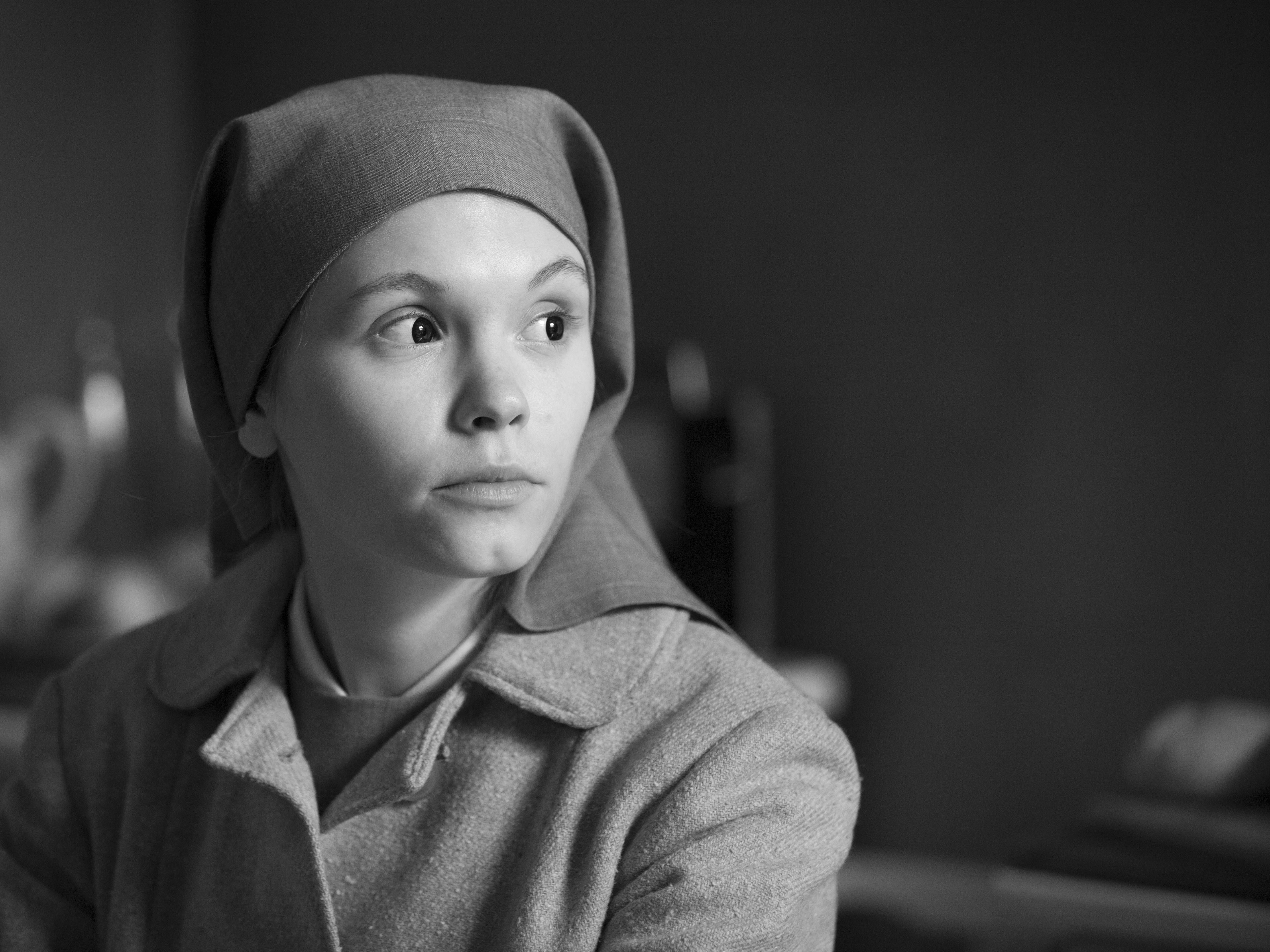 "A young novitiate nun (newcomer Agata Trzebuchowska) in 1960s Poland discovers a dark family secret dating from the Nazi occupation in ""Ida."""