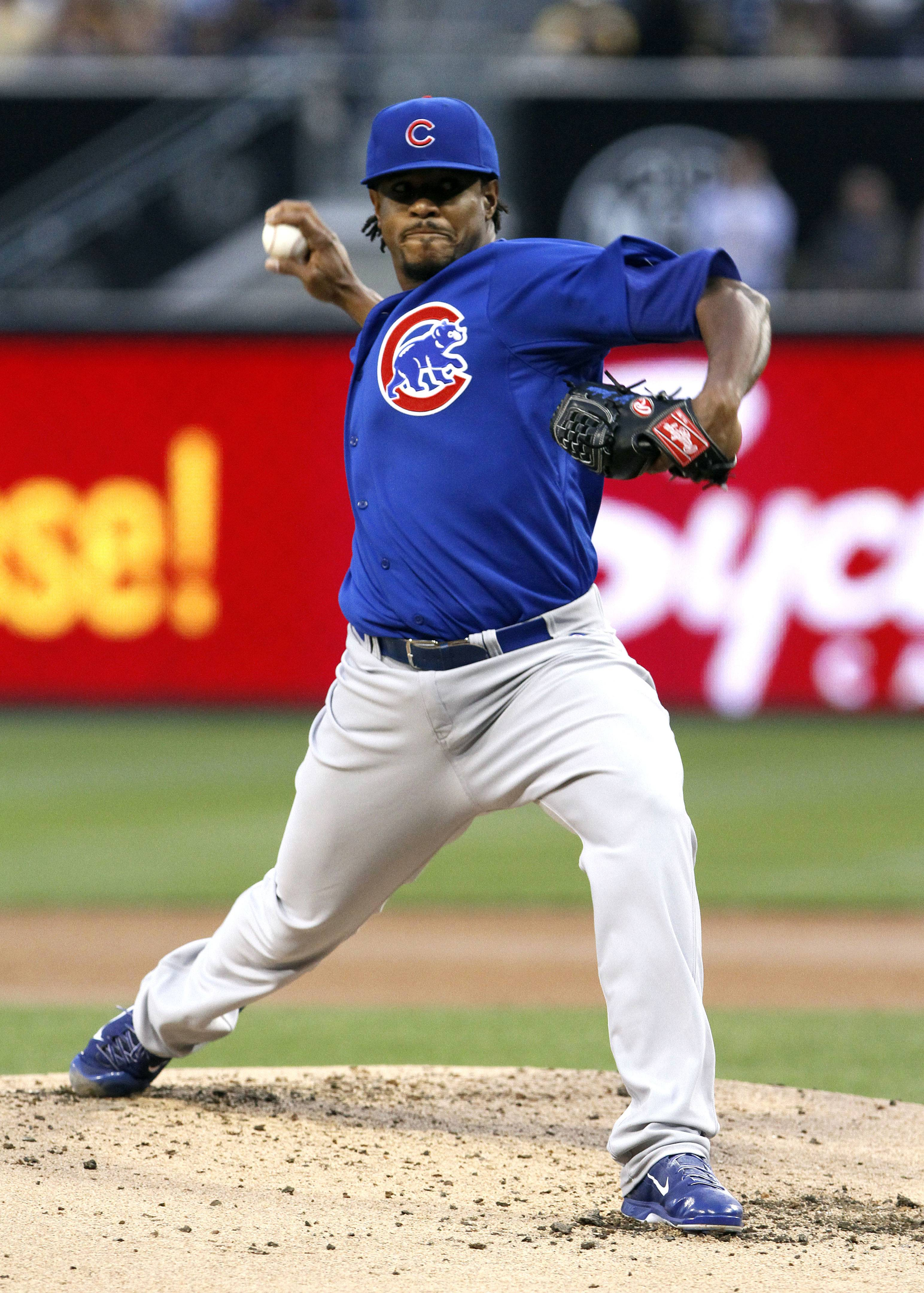 Cubs starter Edwin Jackson (3-4) took the loss and was rocked early, allowing eight runs and nine hits in just four innings.