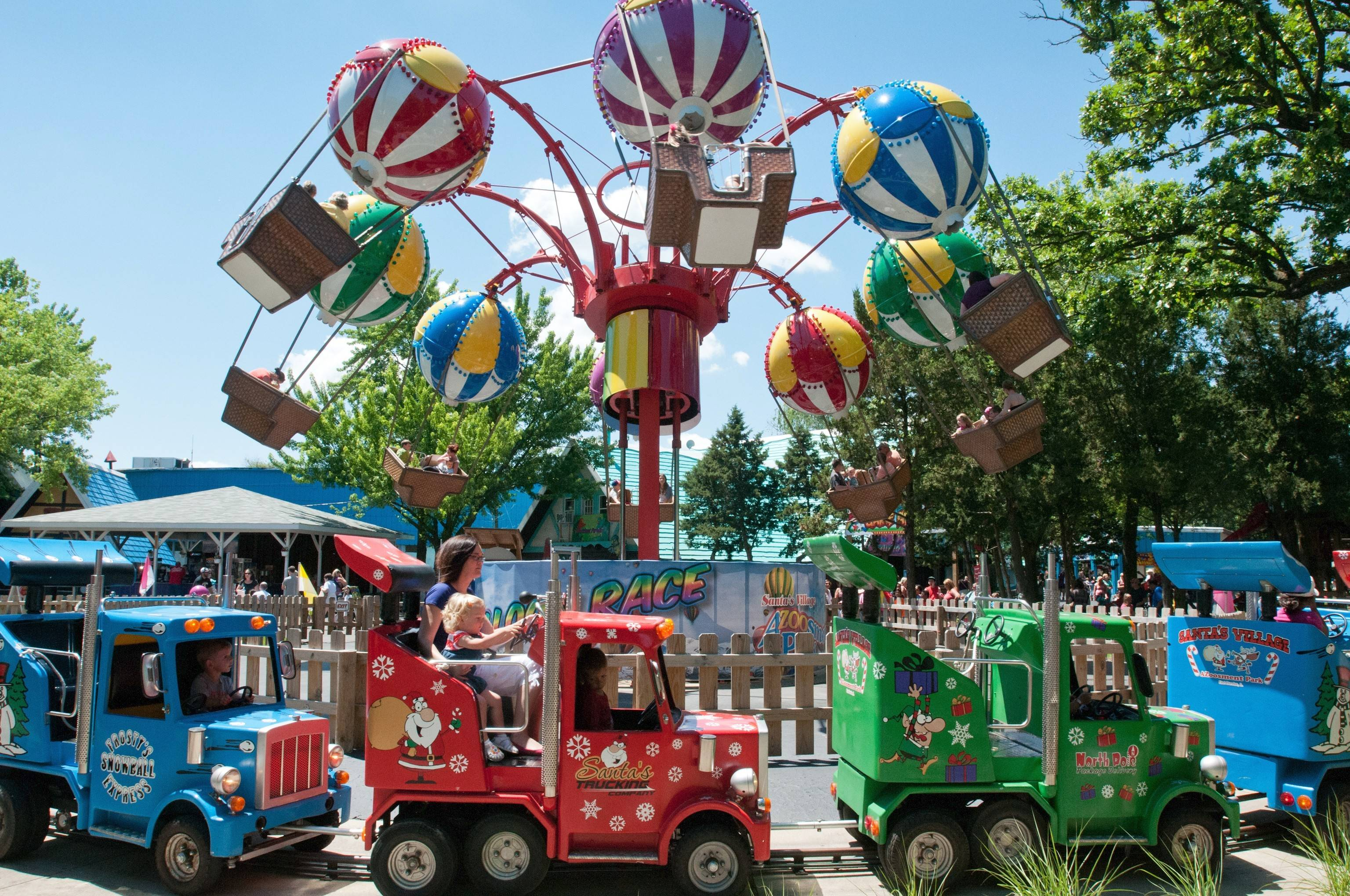 Santa's Village Azoosment Park in East Dundee marks its 55th anniversary this summer.