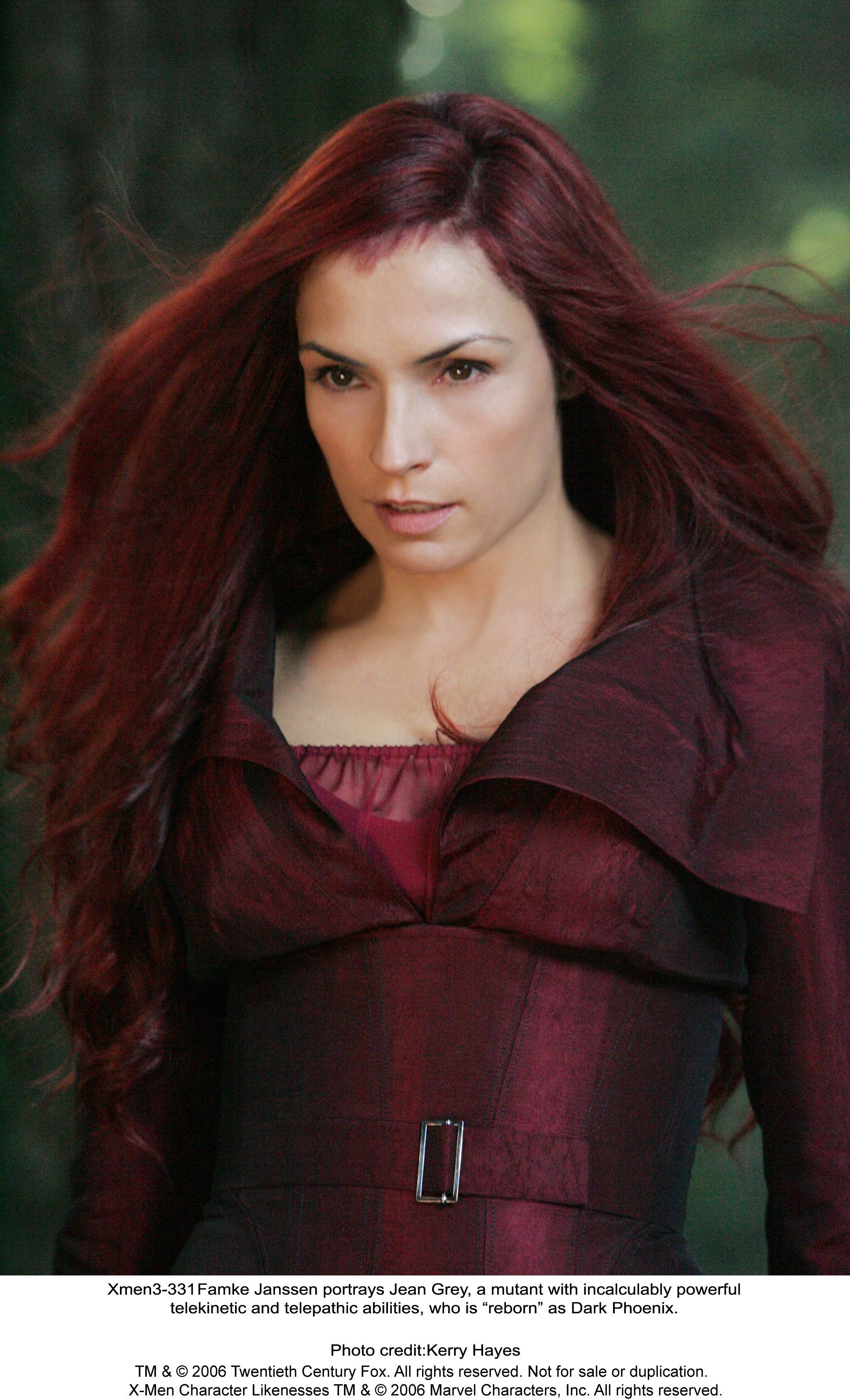 "Famke Janssen is wonderful as Jean Grey in the X-Men franchise, but the character's villainous turn in ""X-Men: The Last Stand"" certainly didn't make for the best movie in the franchise."