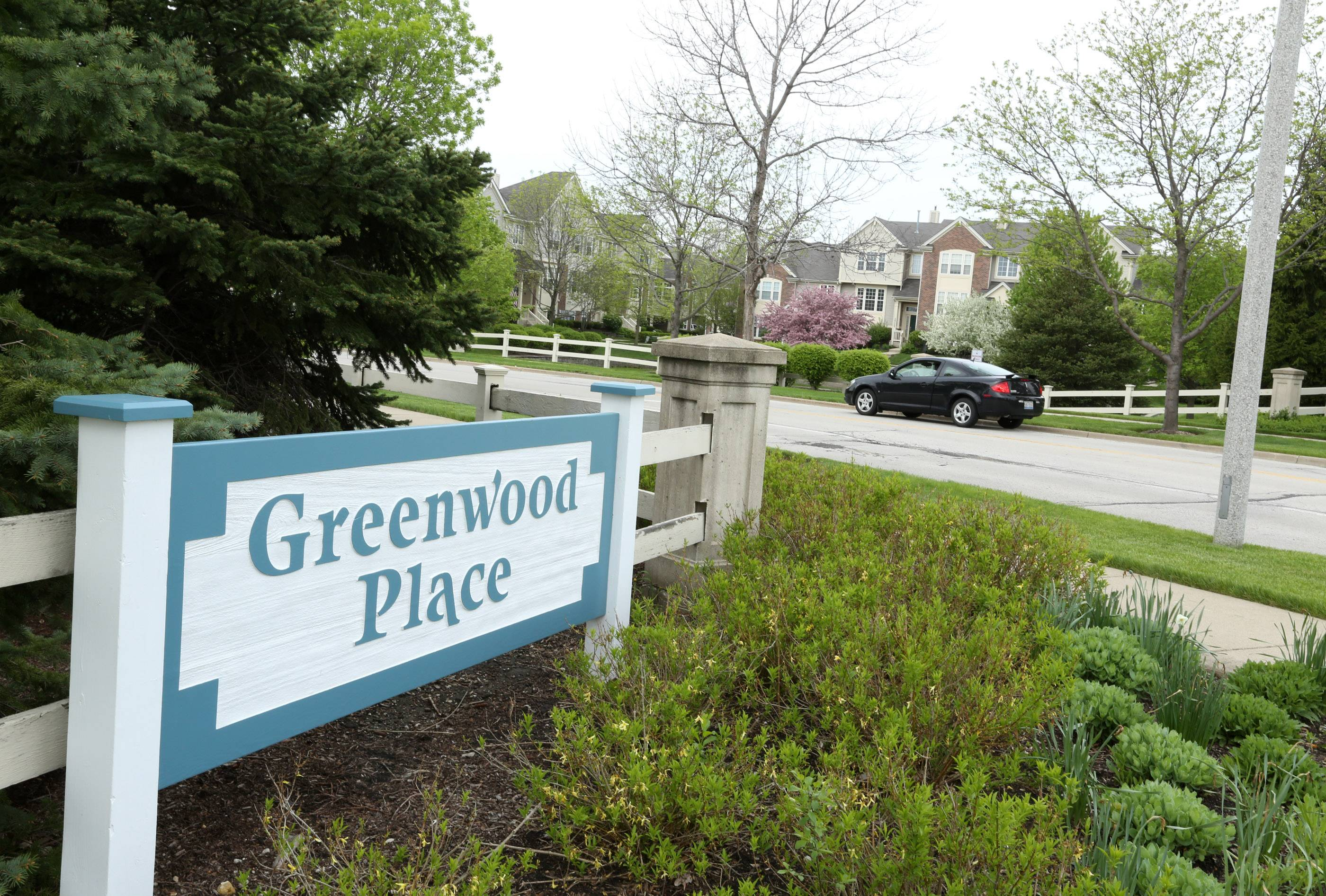 Greenwood Place is a small subdivision of 44 custom houses in Arlington Heights.